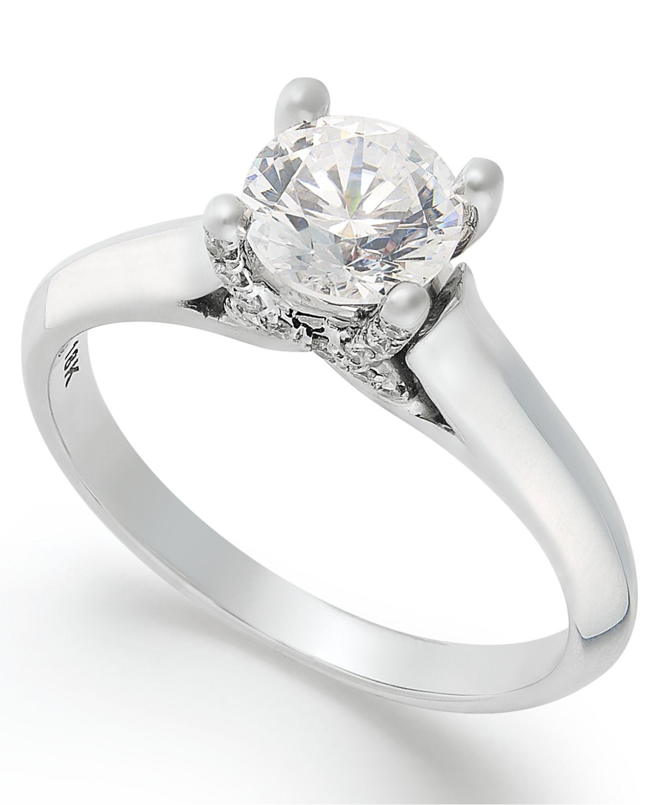 prong gia cut faf kanai solitaire i carat diamond in white gold si princess engagement certified ring set