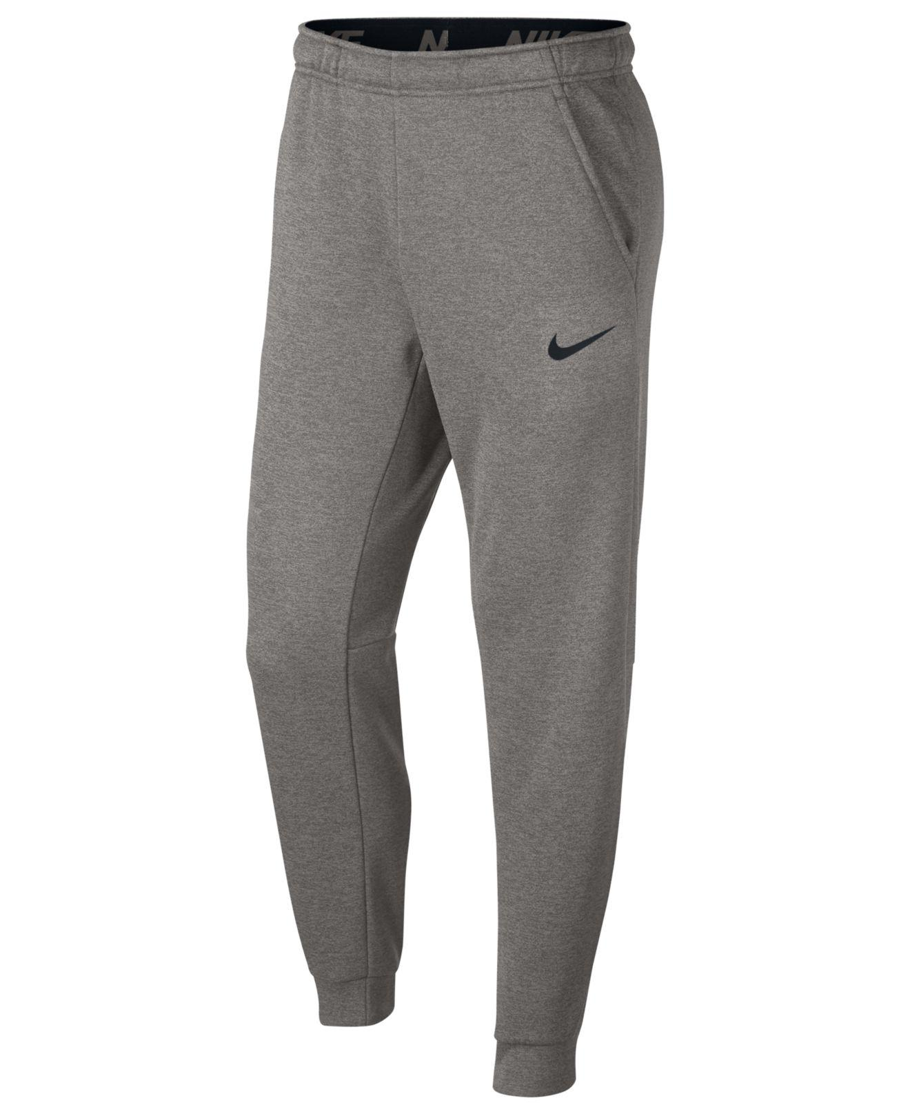c1fdd02fc4 Lyst - Nike Therma Tapered Training Pants in Gray for Men
