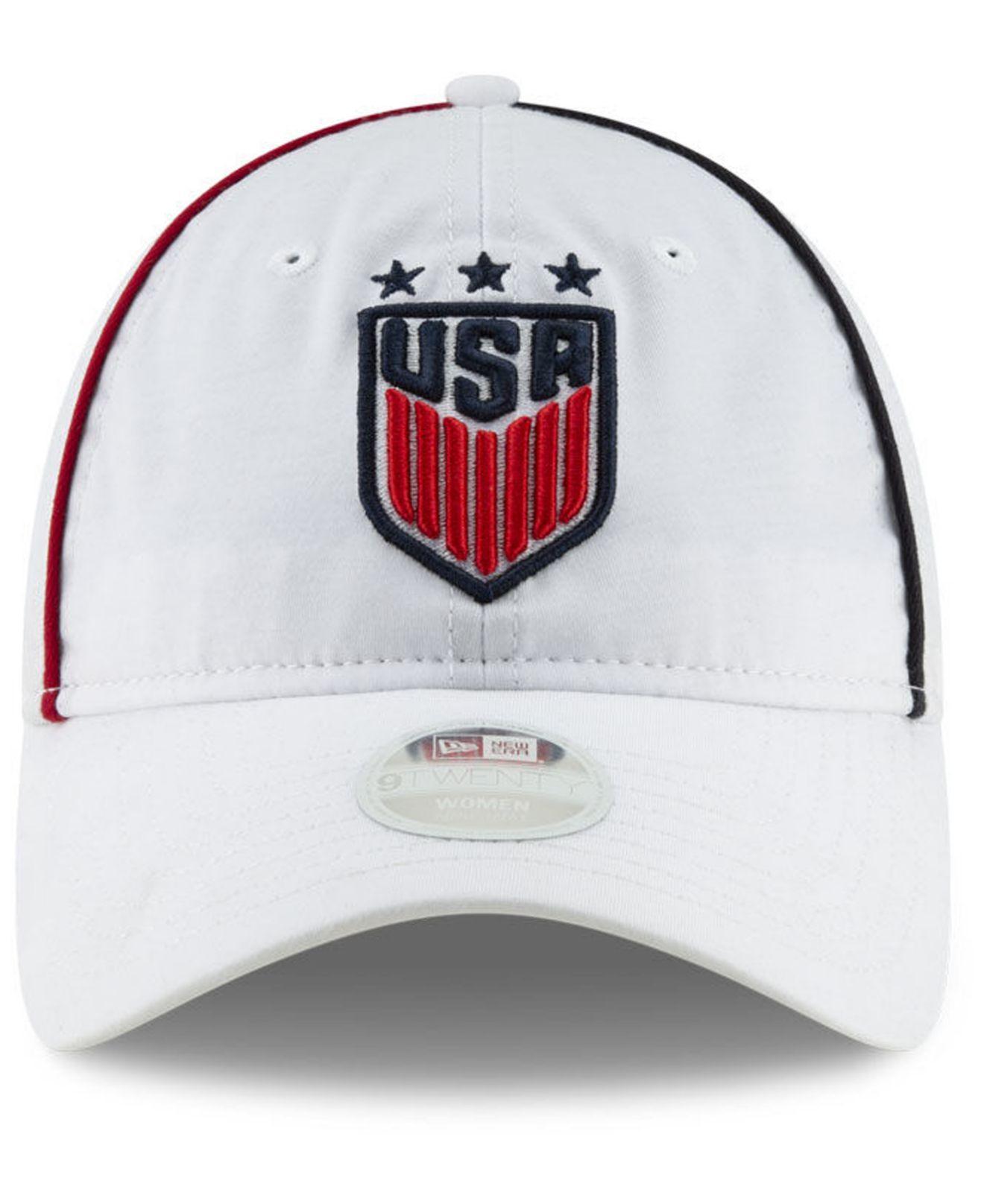 hot sale online be237 eb210 KTZ Usa National Team Streak 9twenty Strapback Cap in White - Lyst