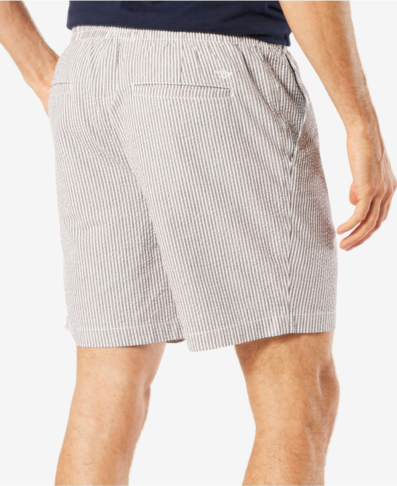 65540a8f71 Dockers Men's Printed Weekend Cruiser Shorts in Gray for Men - Lyst
