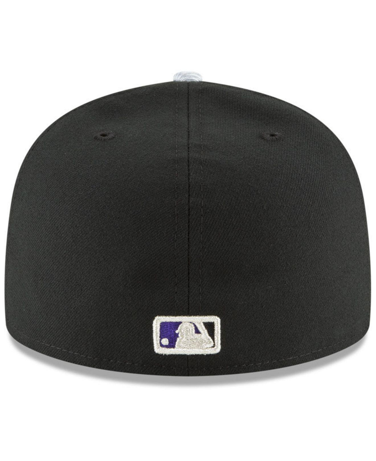 free shipping 0552a 1be9c KTZ Colorado Rockies Authentic Collection 25th Anniversary 59fifty ...