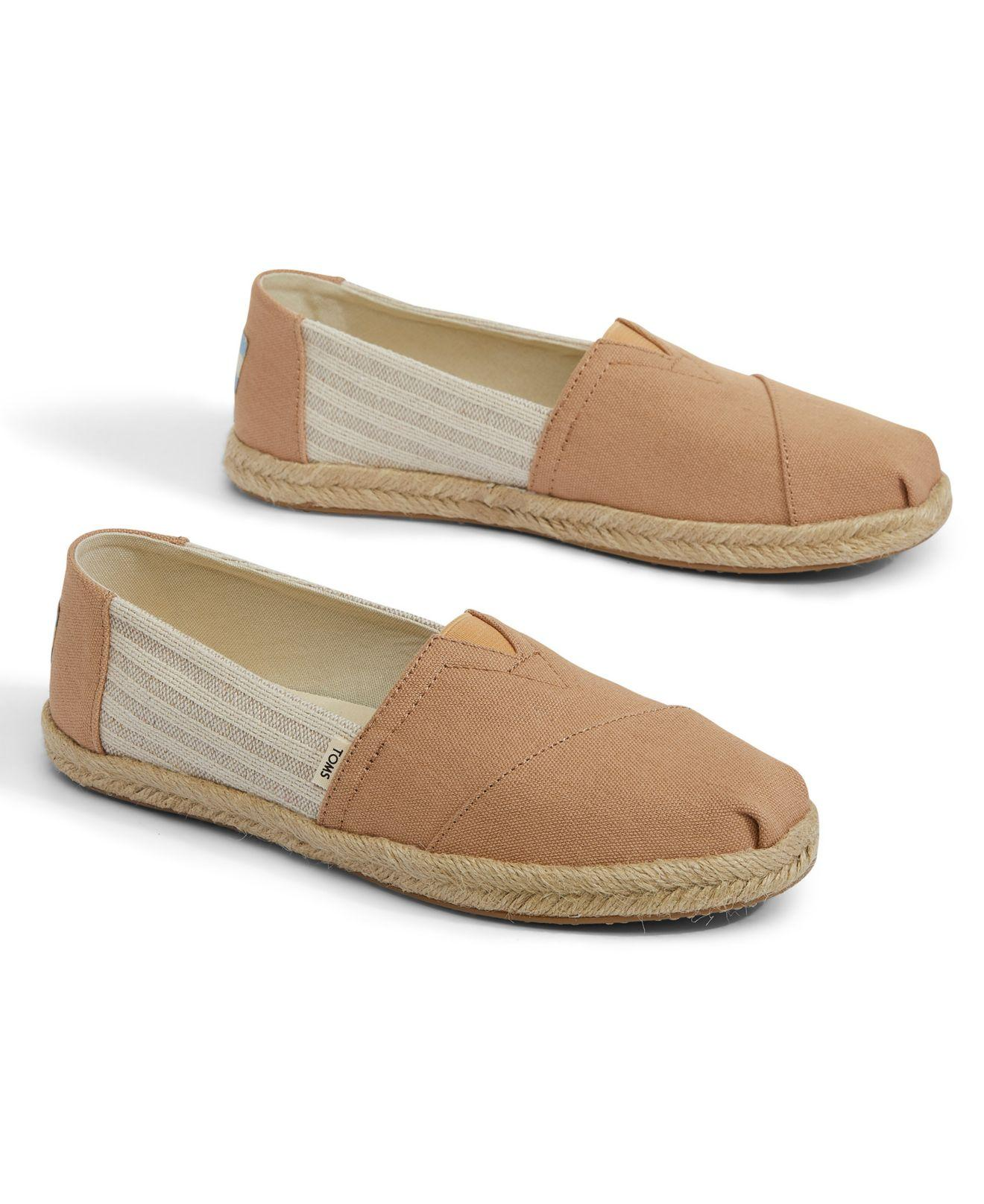 5ff30591df TOMS Honey Ivy League Stripes Women's Espadrilles in Natural - Lyst