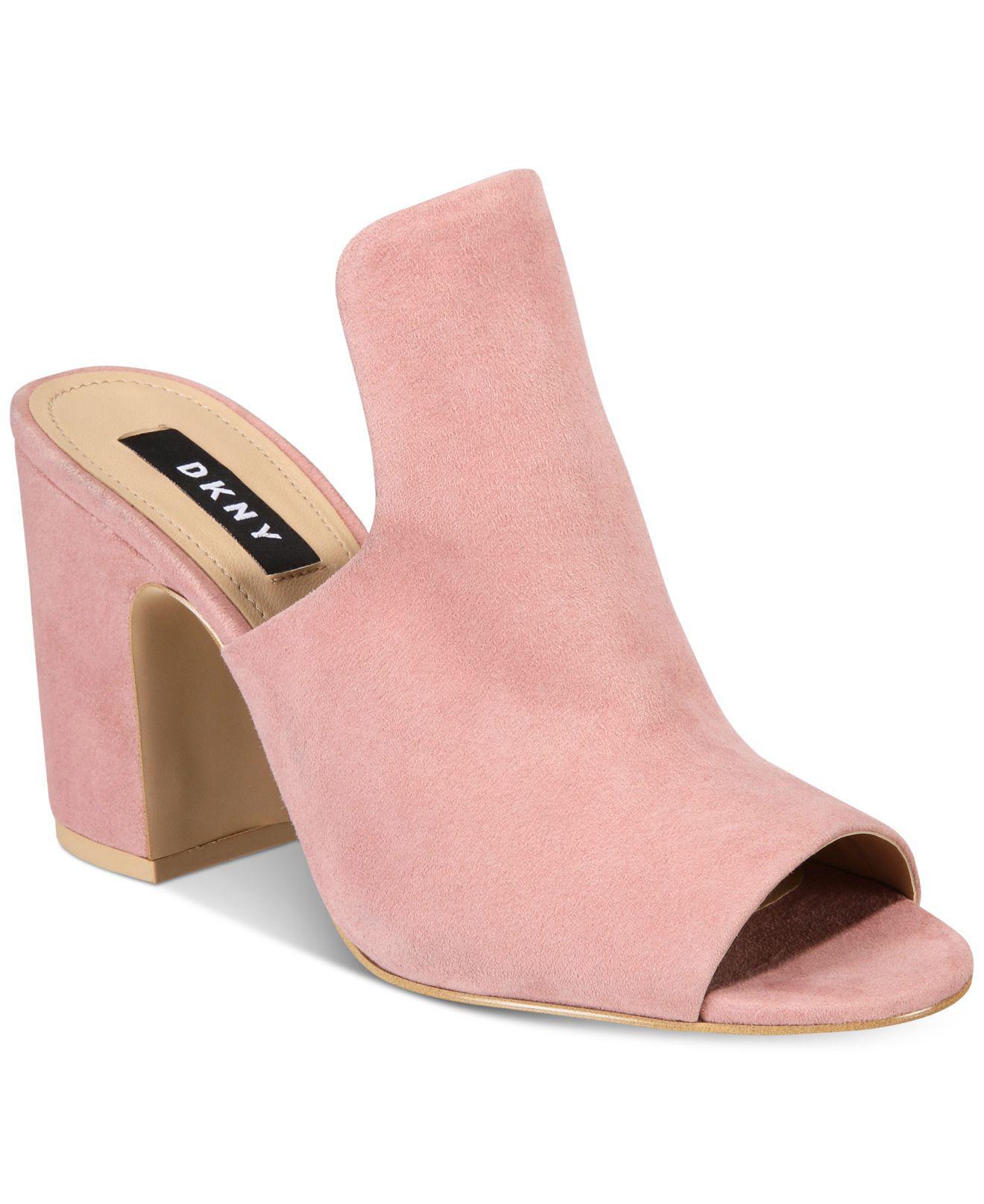Pre-owned - Leather heels DKNY Ya5oiZ7nW