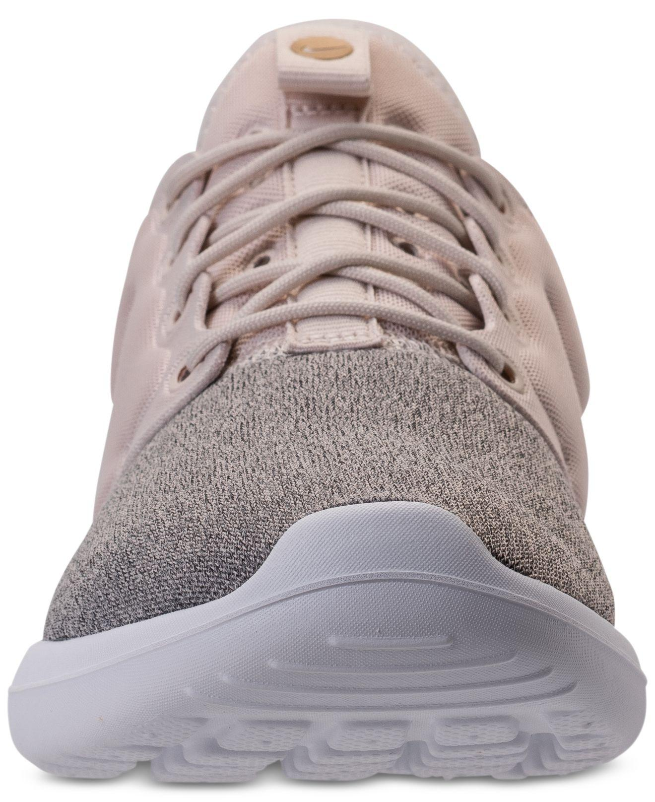 2eada8f8e7b8 Lyst - Nike Women s Roshe Two Knit Casual Sneakers From Finish Line ...