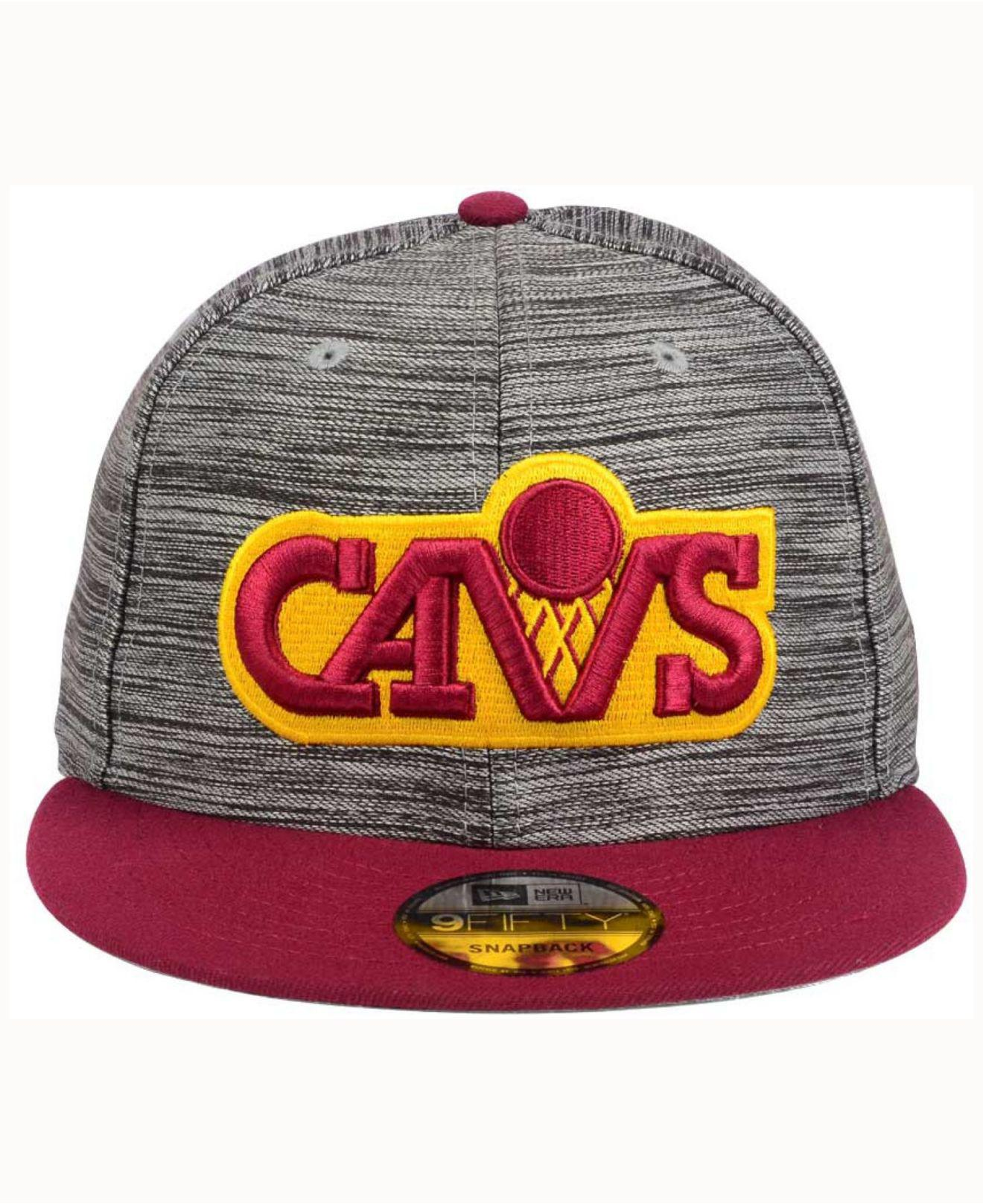 577a84d652f Lyst - Ktz Cleveland Cavaliers Blurred Trick 9fifty Snapback Cap for Men