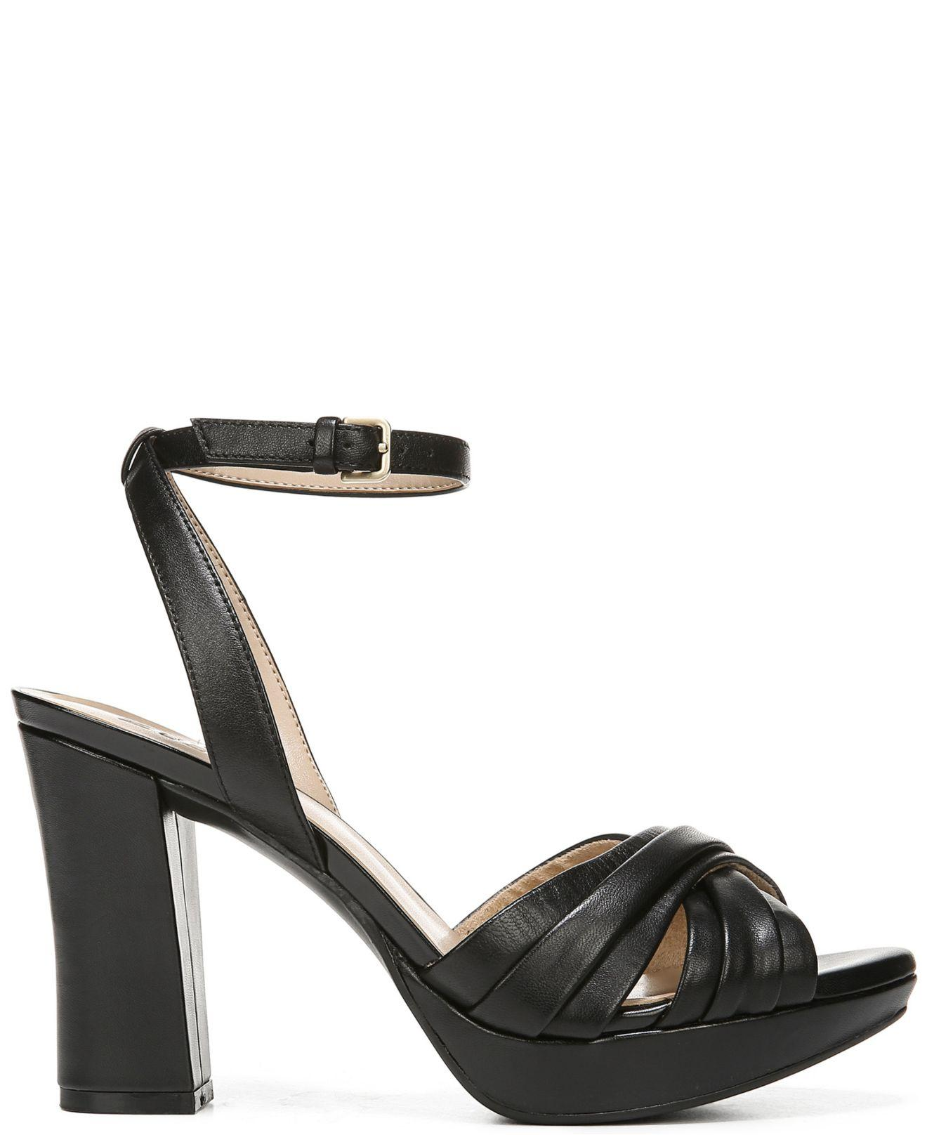 4f1b411e819a Lyst - Naturalizer Avril Ankle Strap Sandals in Black