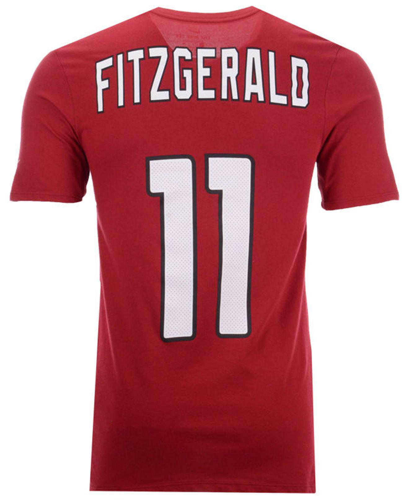 4ef2c5db1 Lyst - Nike Larry Fitzgerald Arizona Cardinals Pride Name And Number  Wordmark T-shirt in Red for Men