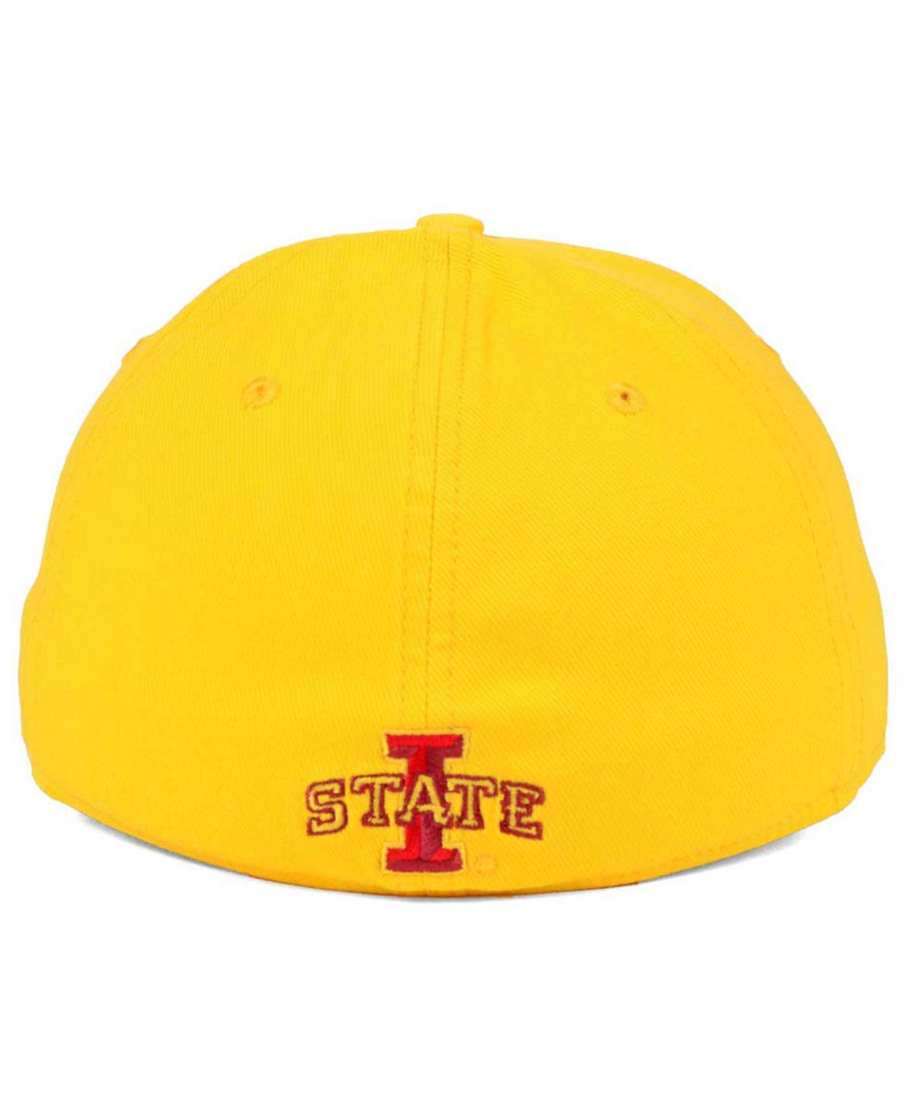 ... flex stretch fit cap in b779b 4b198  new zealand lyst nike iowa state  cyclones classic swoosh cap in yellow for men ac4f6 2f37f 41374ca94dfe