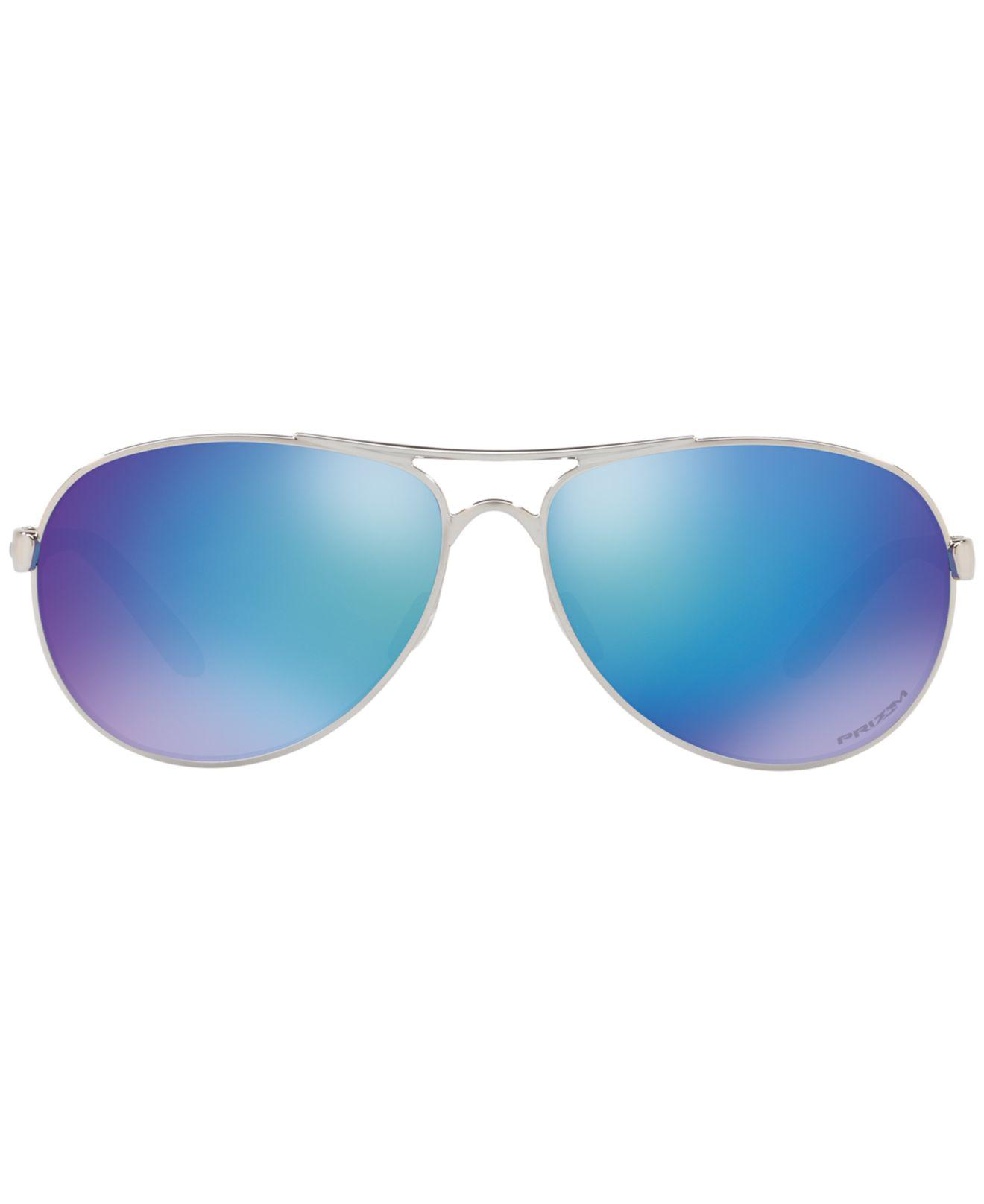 4ff90281ee5 Lyst - Oakley Feedback Aviator in Blue