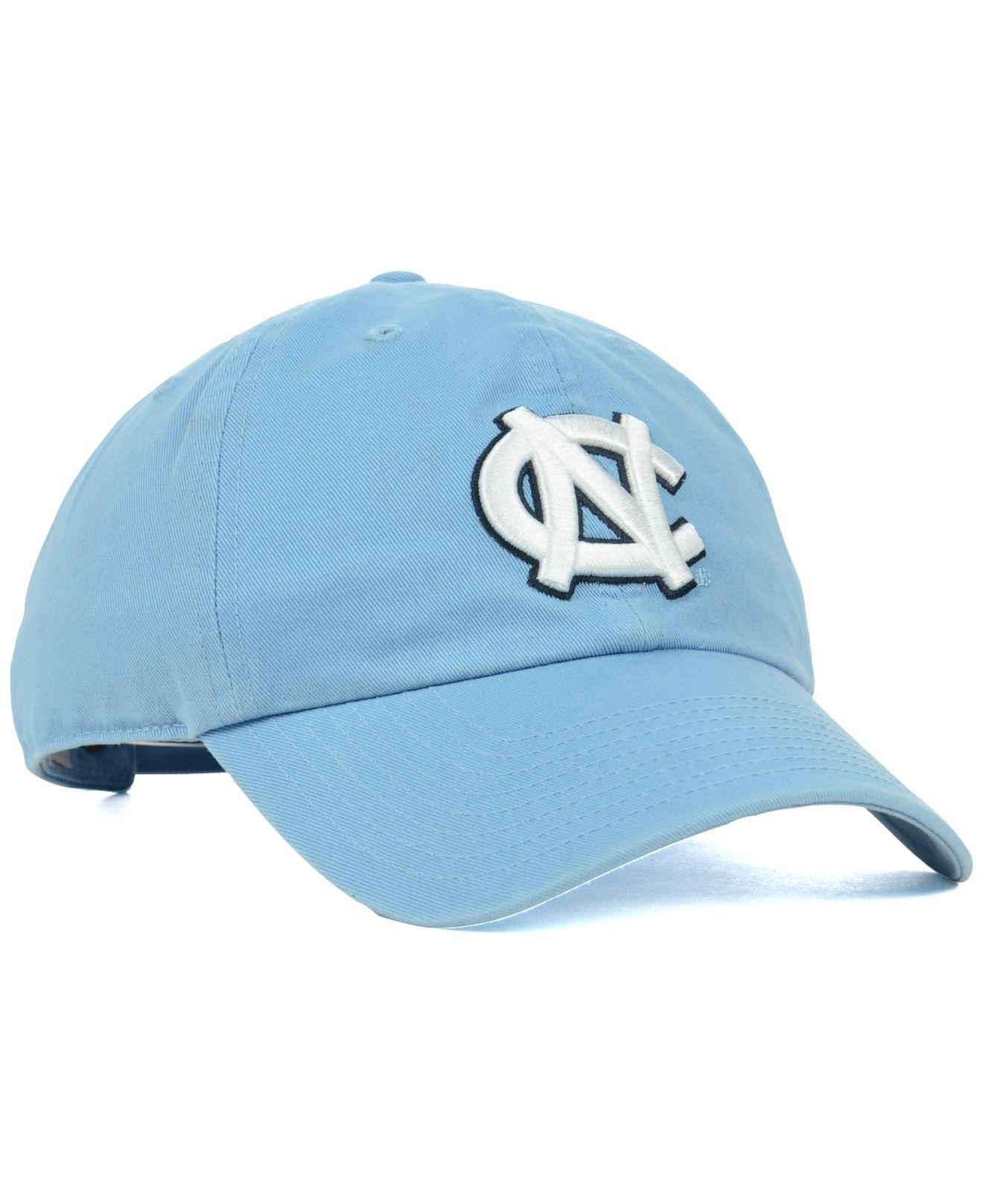 huge selection of 64764 c9a1d ... clearance 47 brand blue north carolina tar heels ncaa clean up cap for  men . view