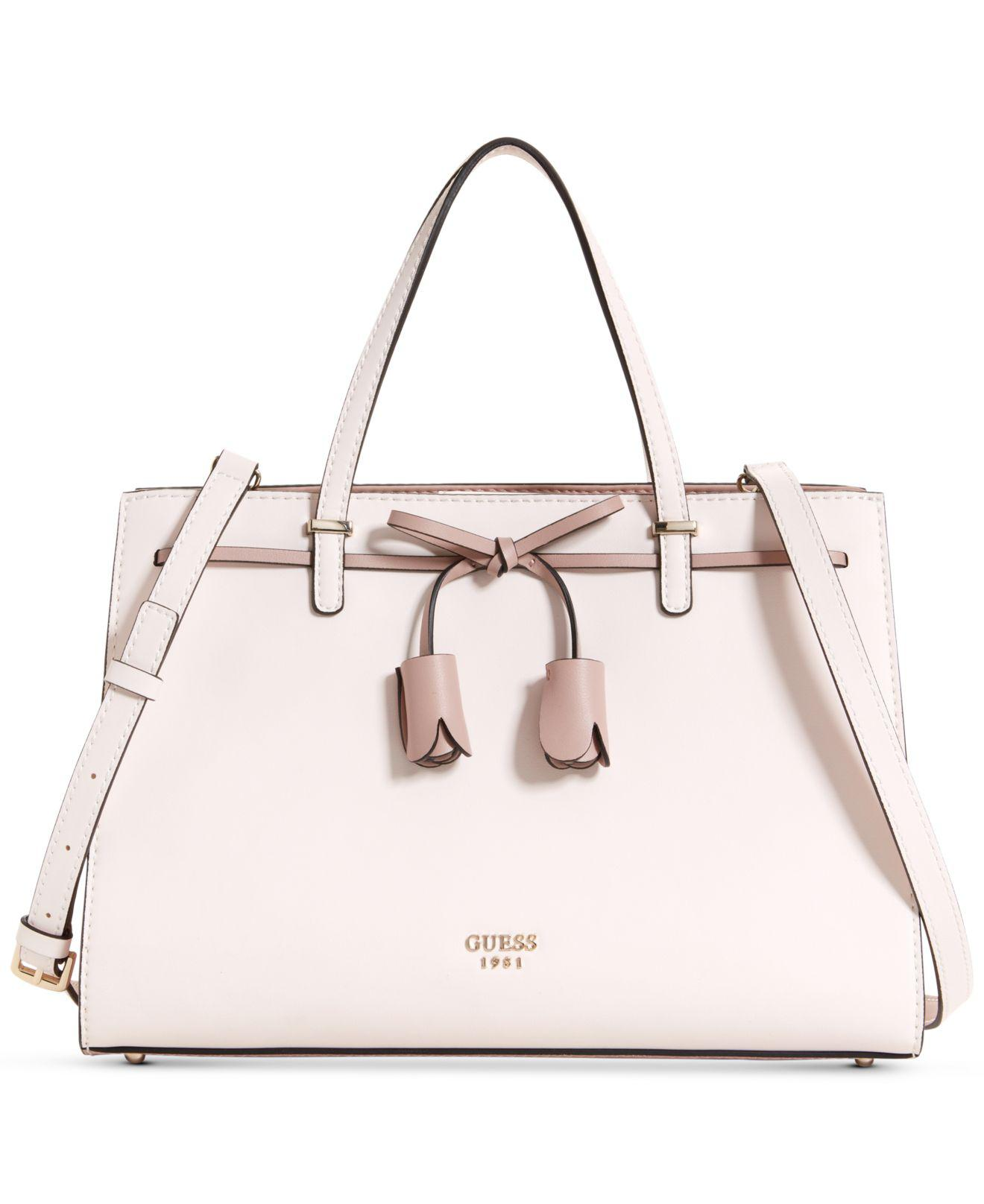Lyst - Guess Leila Girlfriend Satchel 03ca15c829cd8
