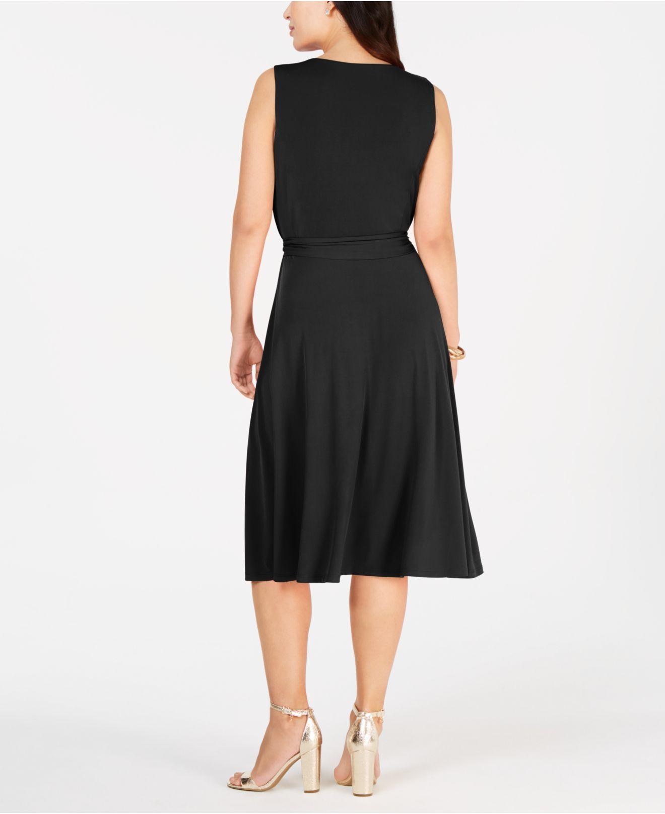 81a978f200 Lyst - Charter Club Tie-waist Midi Dress