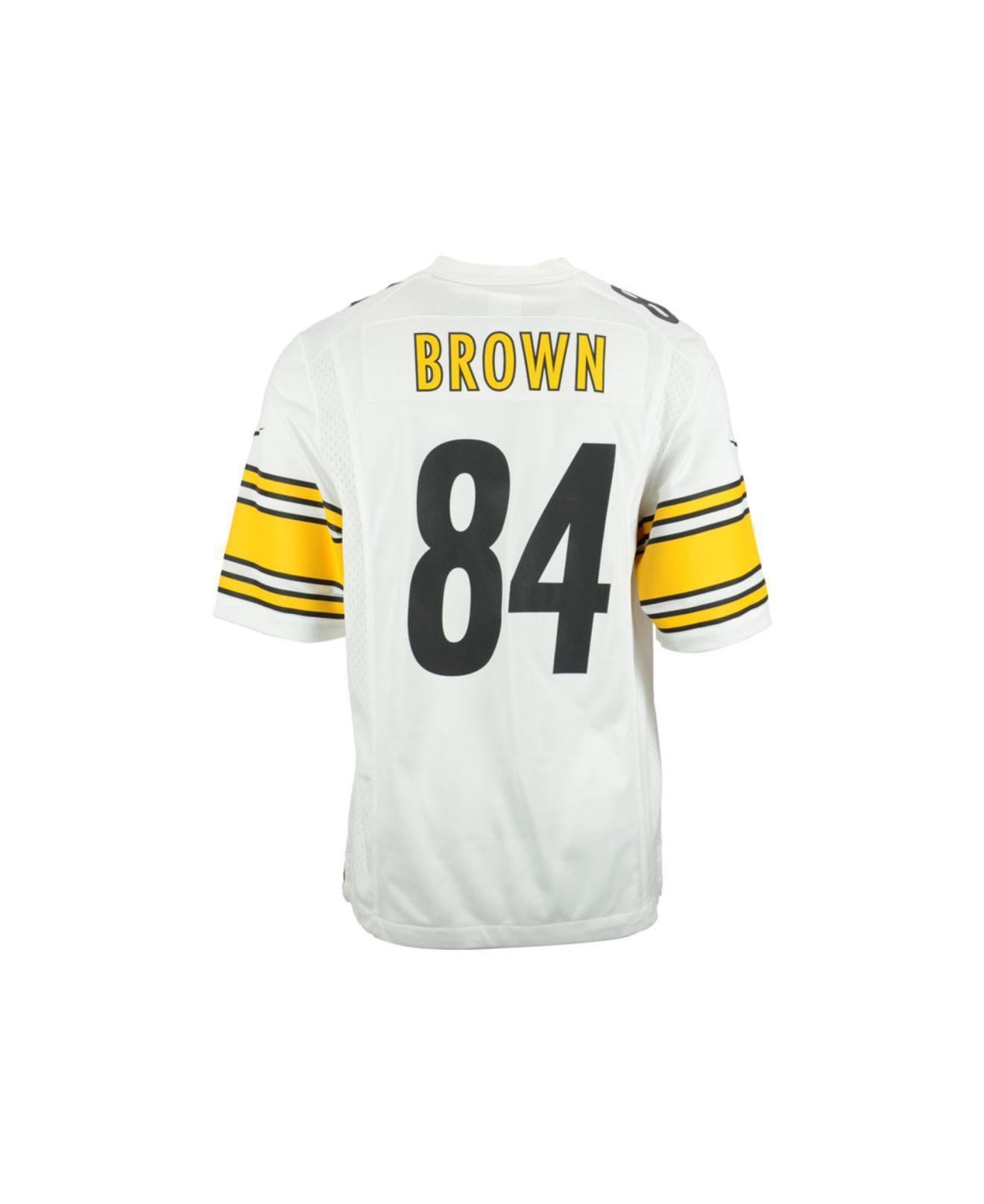 127051f0046 Lyst - Nike Men's Antonio Brown Pittsburgh Steelers Game Jersey in ...