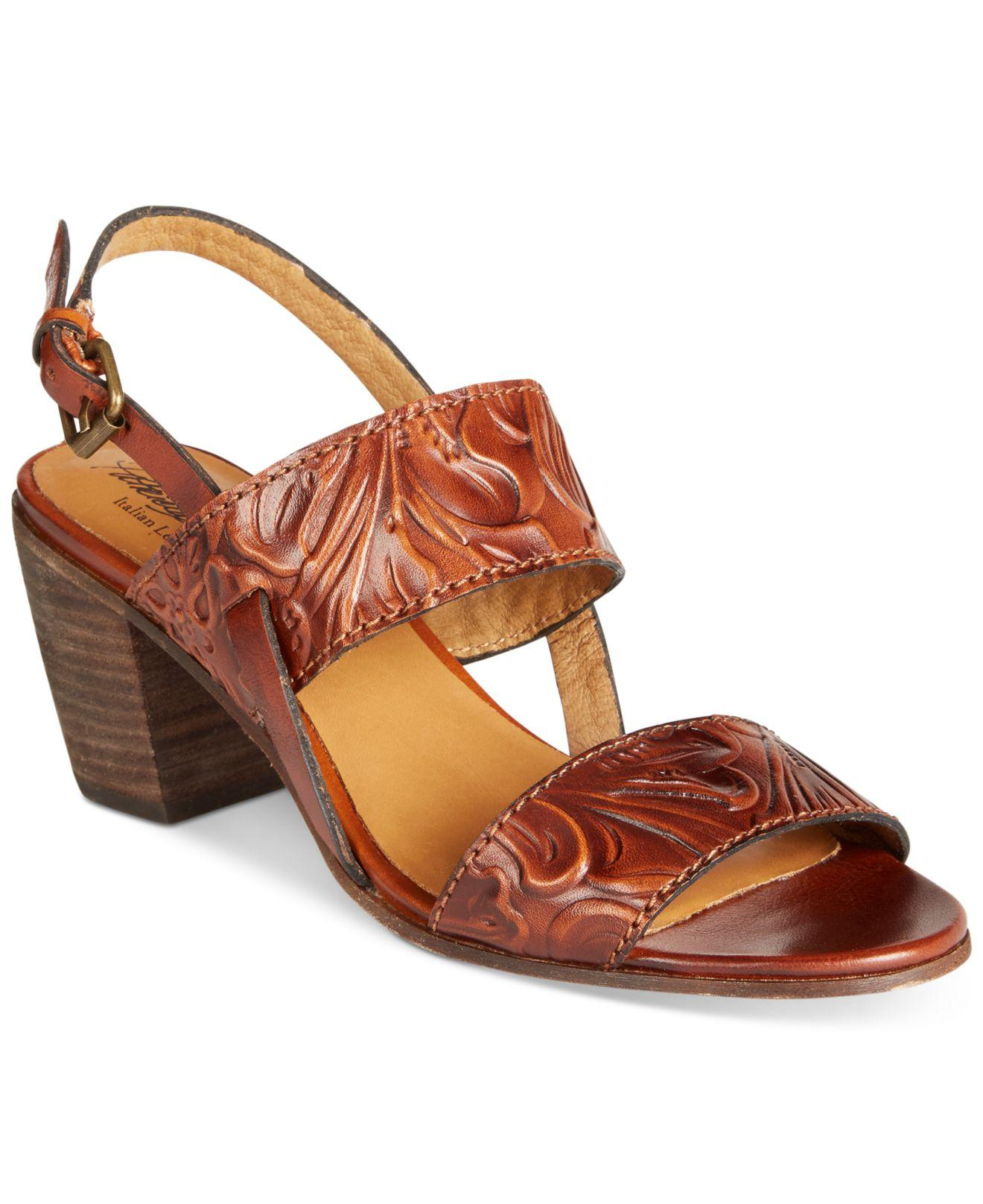 Lyst Patricia Nash Romana Sandals In Brown