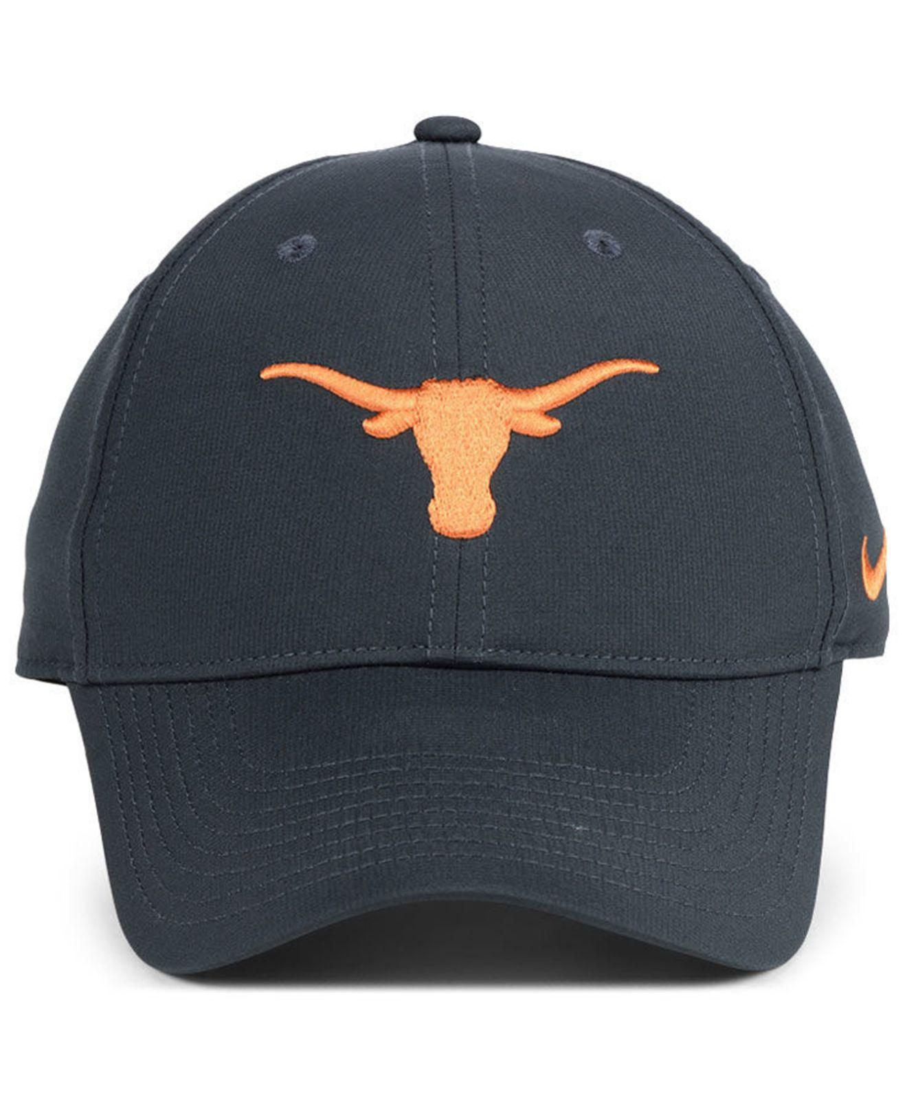 43039f9dfbf0 Lyst - Nike Texas Longhorns Dri-fit Adjustable Cap in Blue for Men