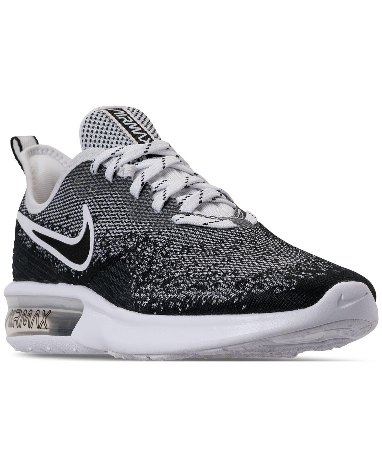 99fc2856abd362 Lyst - Nike Air Max Sequent 4 Running Sneakers From Finish Line in ...