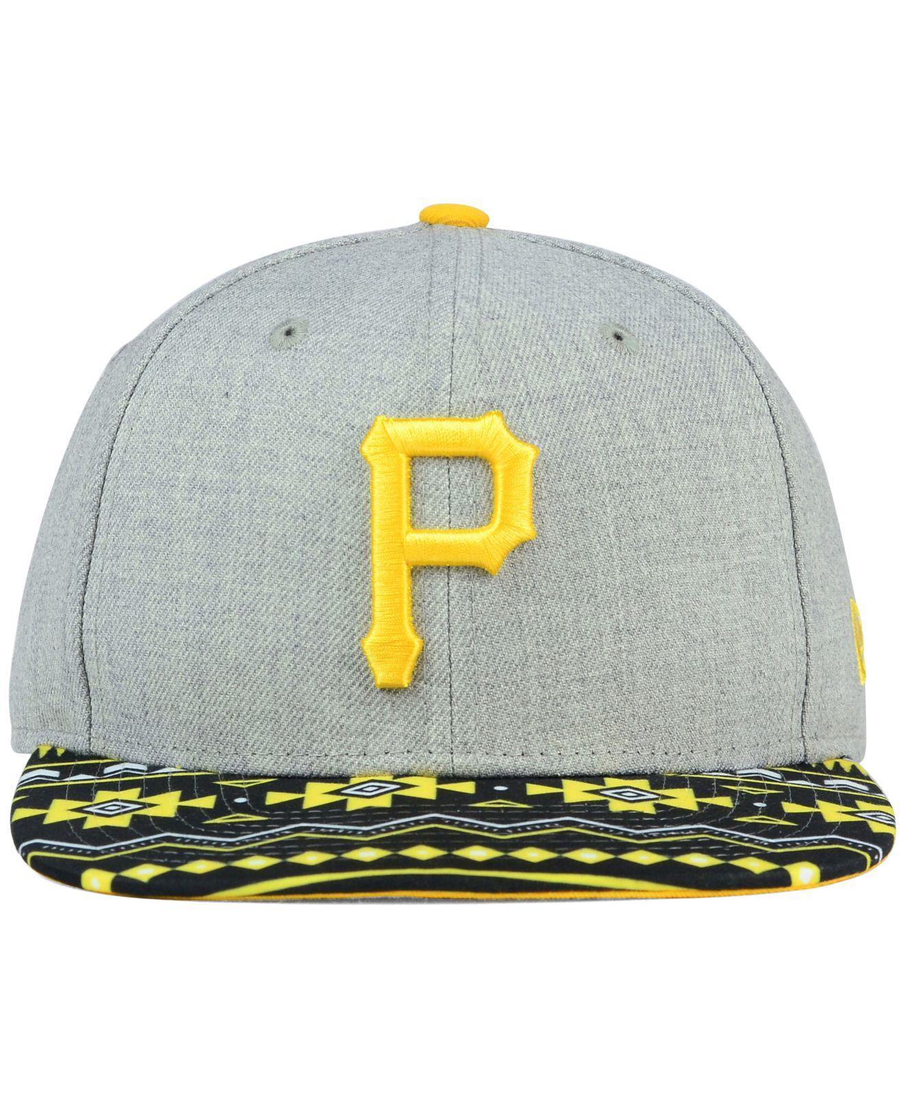 the best attitude b682a c1a5c KTZ - Gray Pittsburgh Pirates Neon Mashup 9fifty Snapback Cap for Men - Lyst