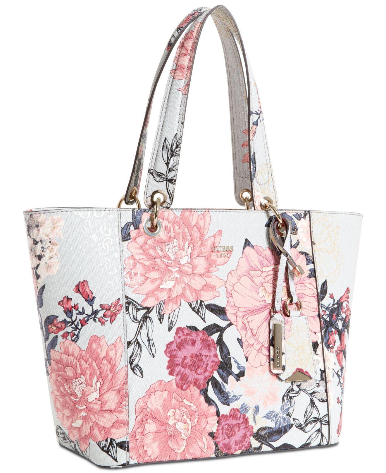 940adb857259 Lyst - Guess Kamryn Extra-large Tote