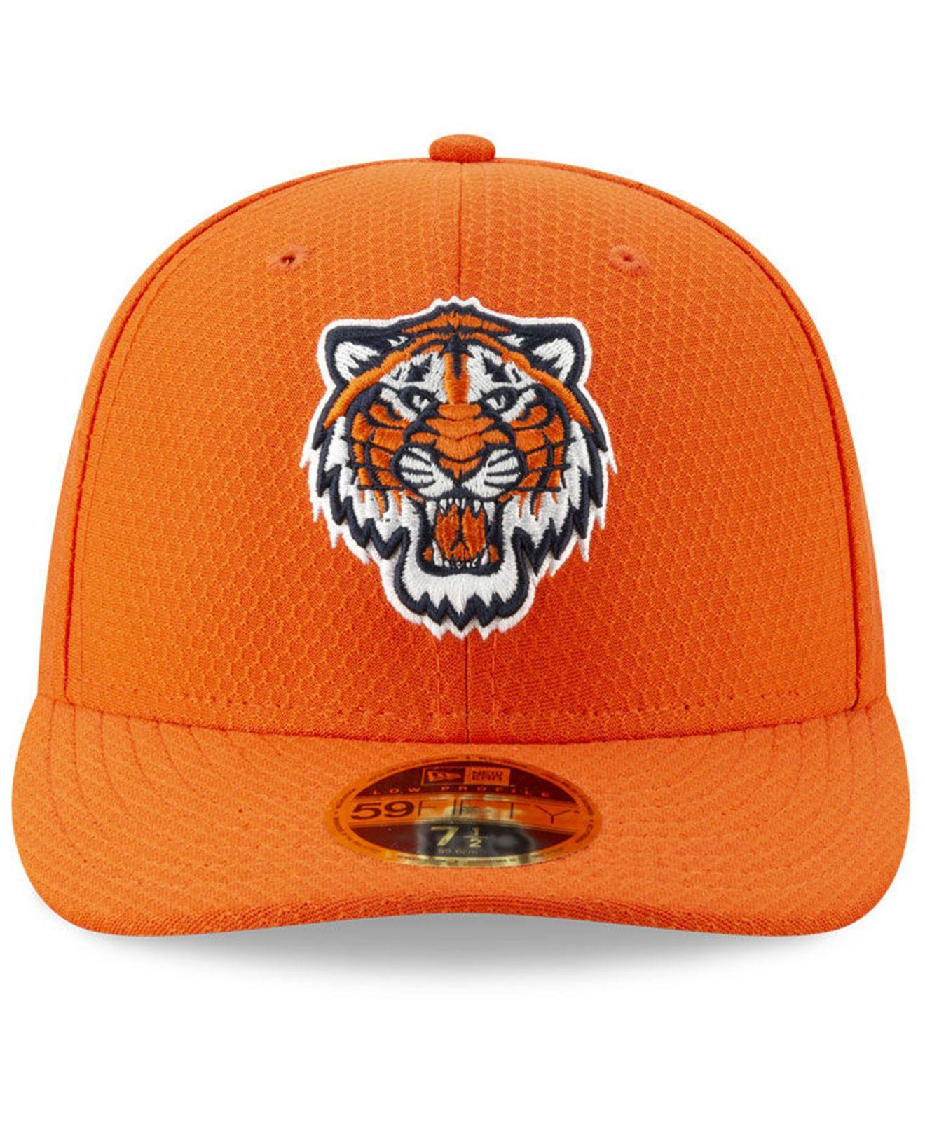 quality design 1d773 297a5 Lyst - KTZ Detroit Tigers Spring Training 59fifty-fitted Low Profile Cap in  Orange for Men
