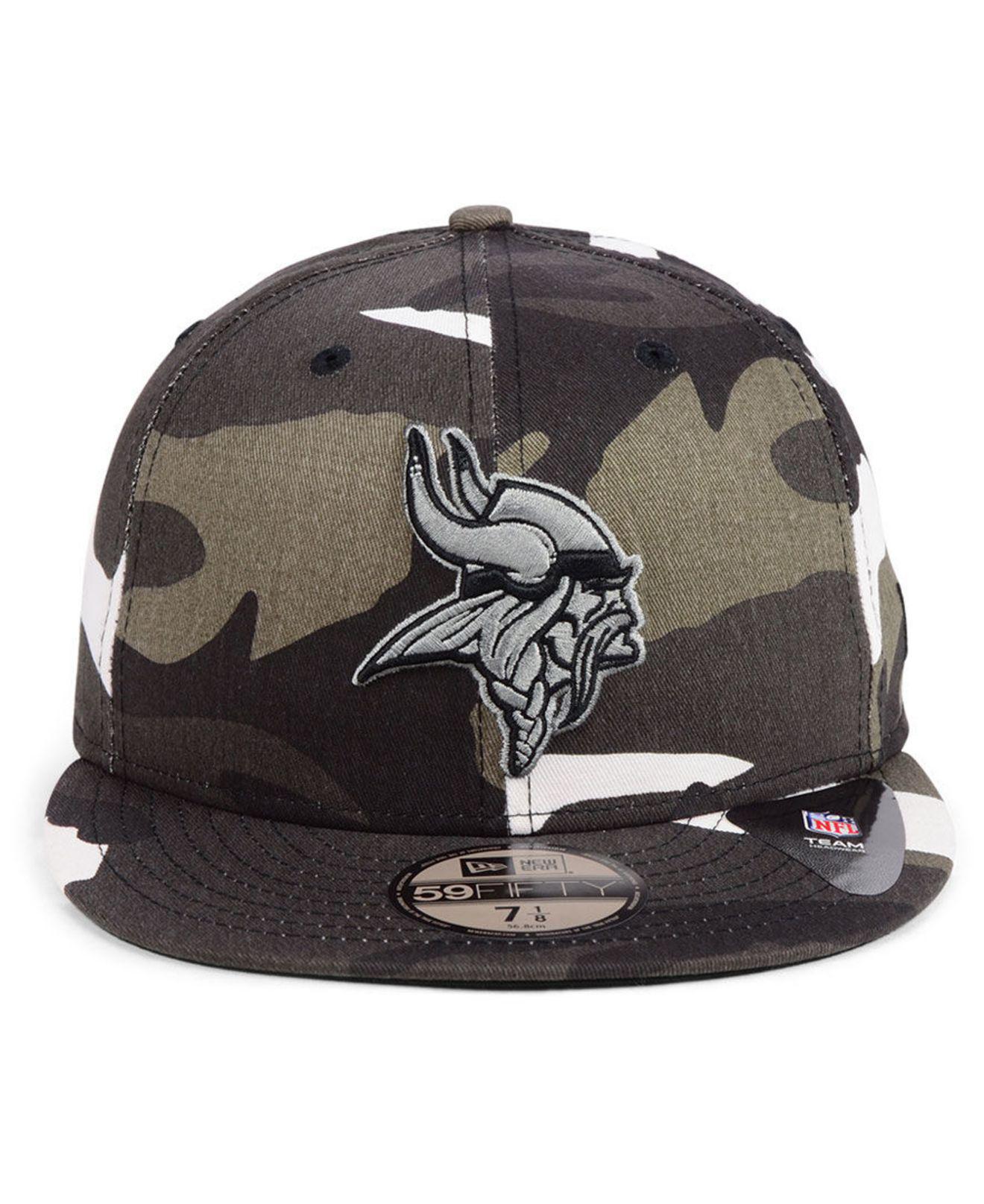 Lyst - KTZ Minnesota Vikings Urban Prism Pack 59fifty-fitted Cap for Men 4d63e9bbc