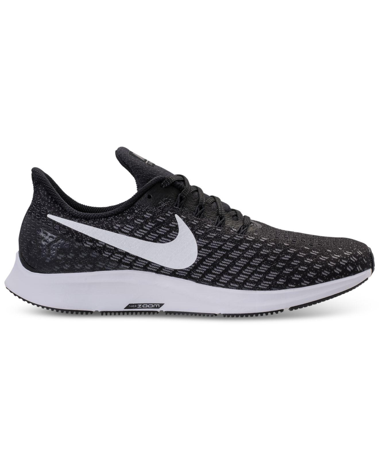a0995703d784 Lyst - Nike Air Zoom Pegasus 35 Running Sneakers From Finish Line in Black  for Men