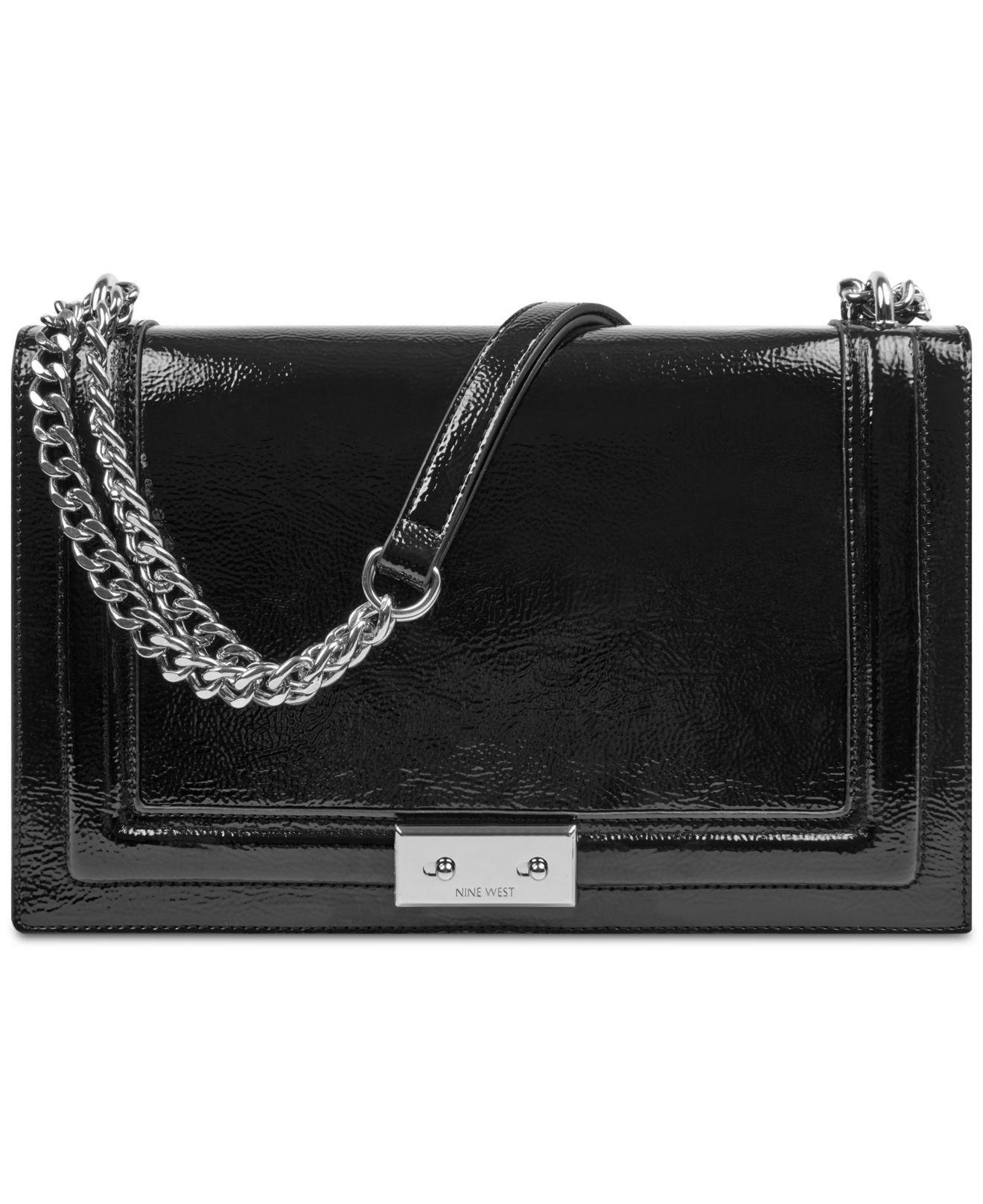 7cfb79a319 Lyst - Nine West Inaya Shoulder Bag in Black