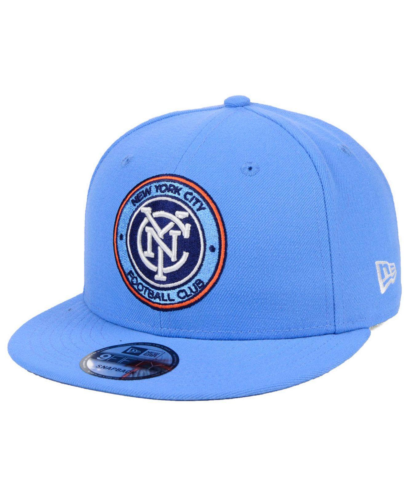 4ee6079b27b04 Lyst - KTZ New York City Fc Core 9fifty Snapback Cap in Blue for Men