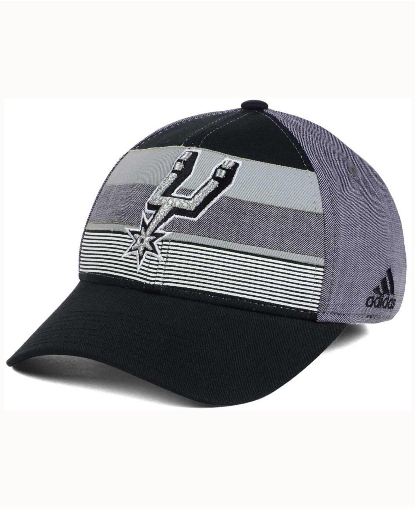 promo code f07a8 ecaa4 ... wholesale lyst adidas tri color flex cap in black for men 0043a 9d90f