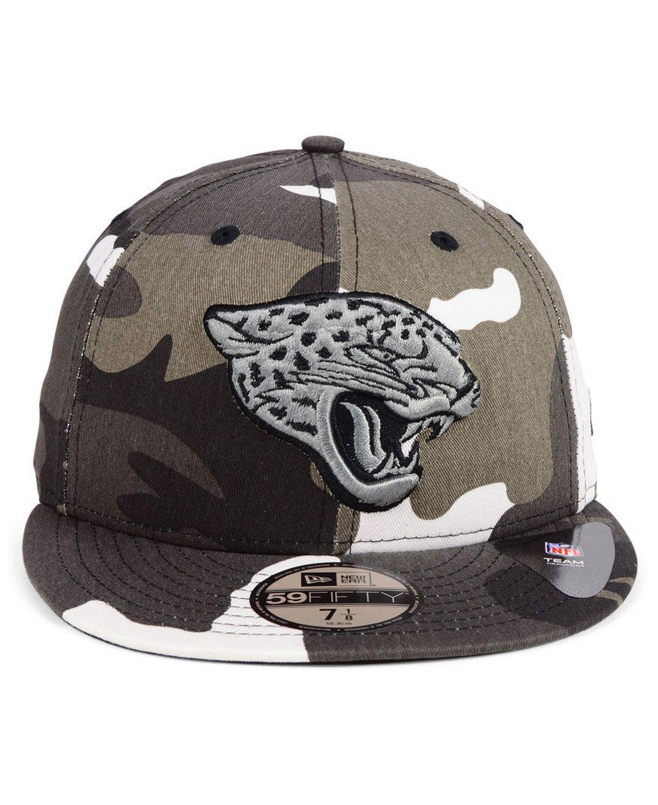 huge selection of 1311e 4ffca Lyst - KTZ Jacksonville Jaguars Urban Prism Pack 59fifty-fitted Cap for Men