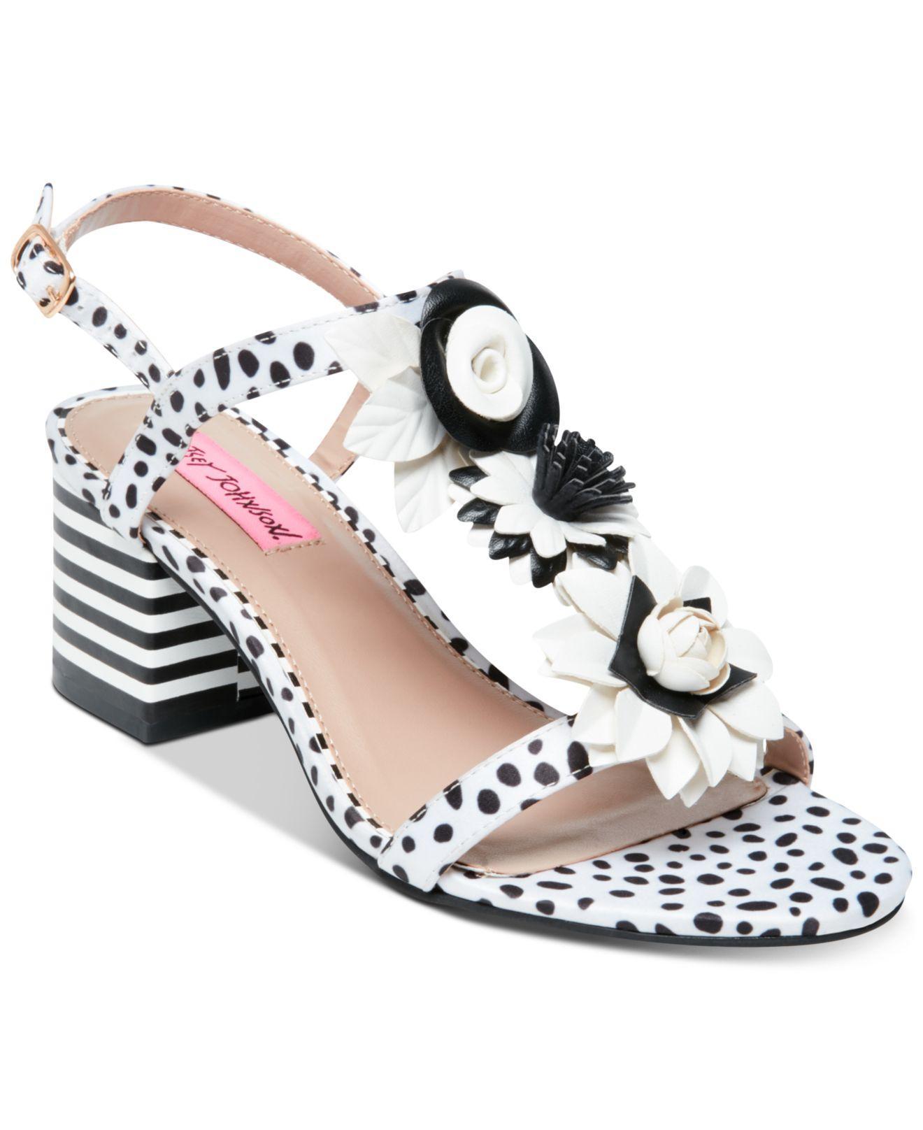 1ec181e987a Lyst - Katy Perry Betsey Johnson Adde Dress Sandals