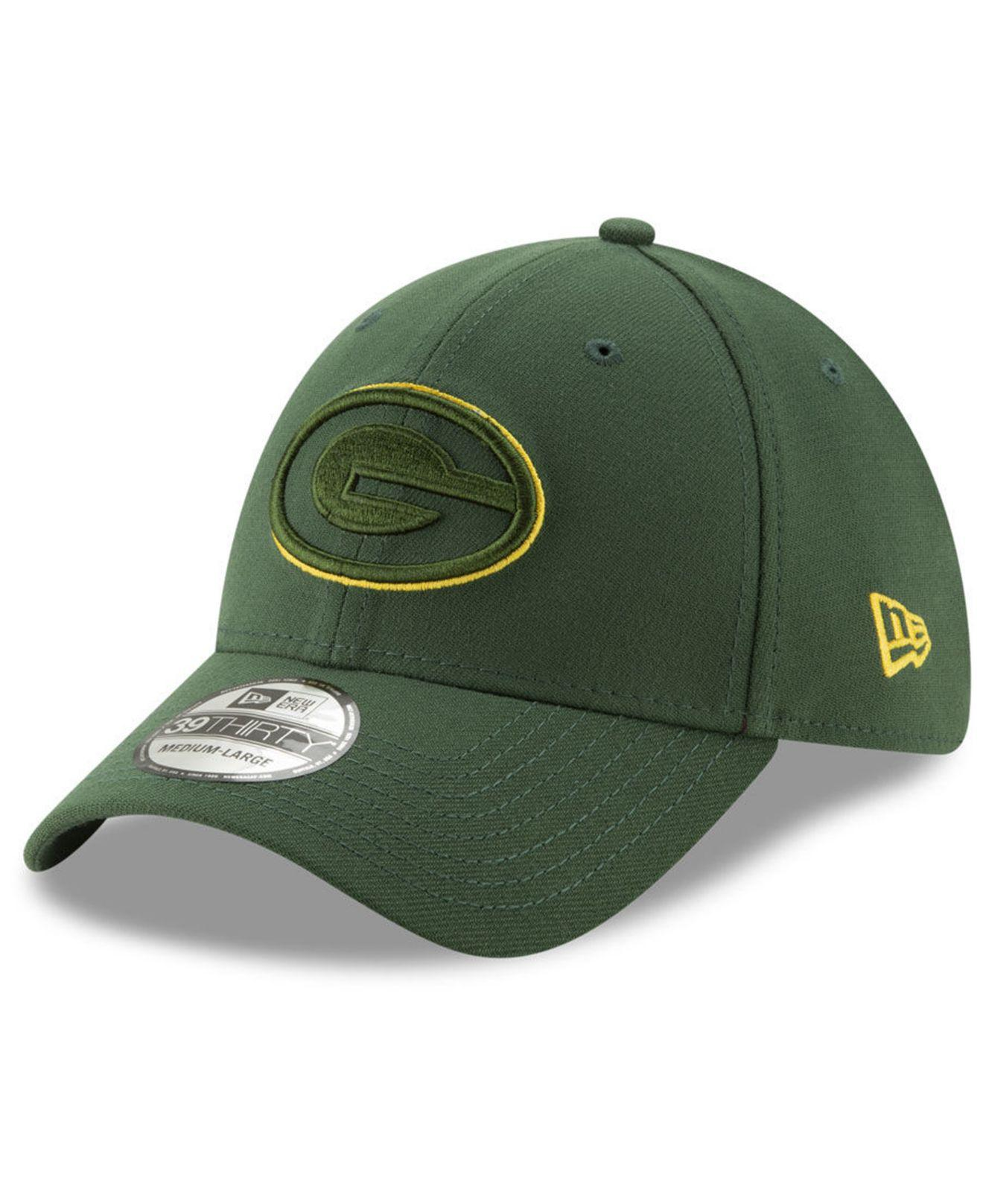 pretty nice 35677 11c50 KTZ. Green Bay Packers Logo Elements Collection 39thirty Cap