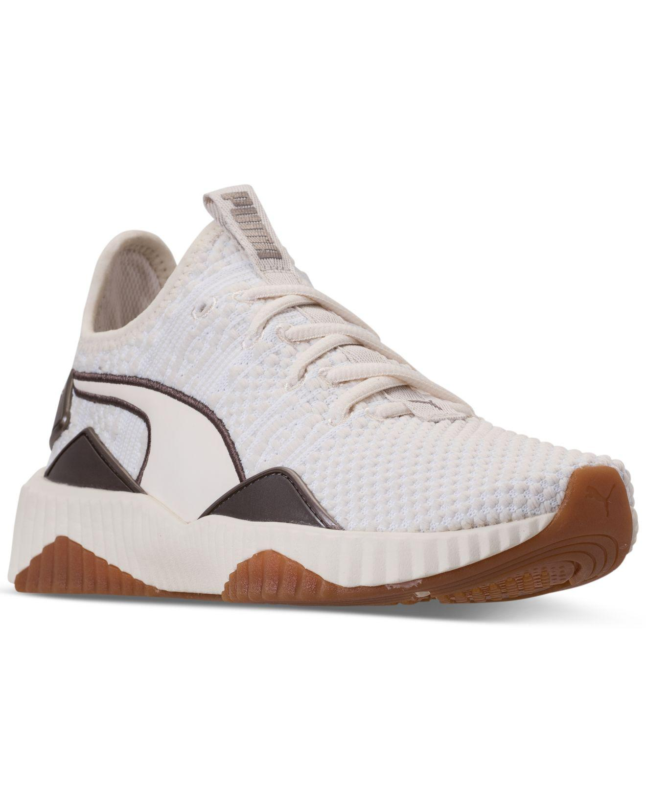 401bf7901401f8 Lyst - PUMA Defy Luxe Casual Sneakers From Finish Line in White