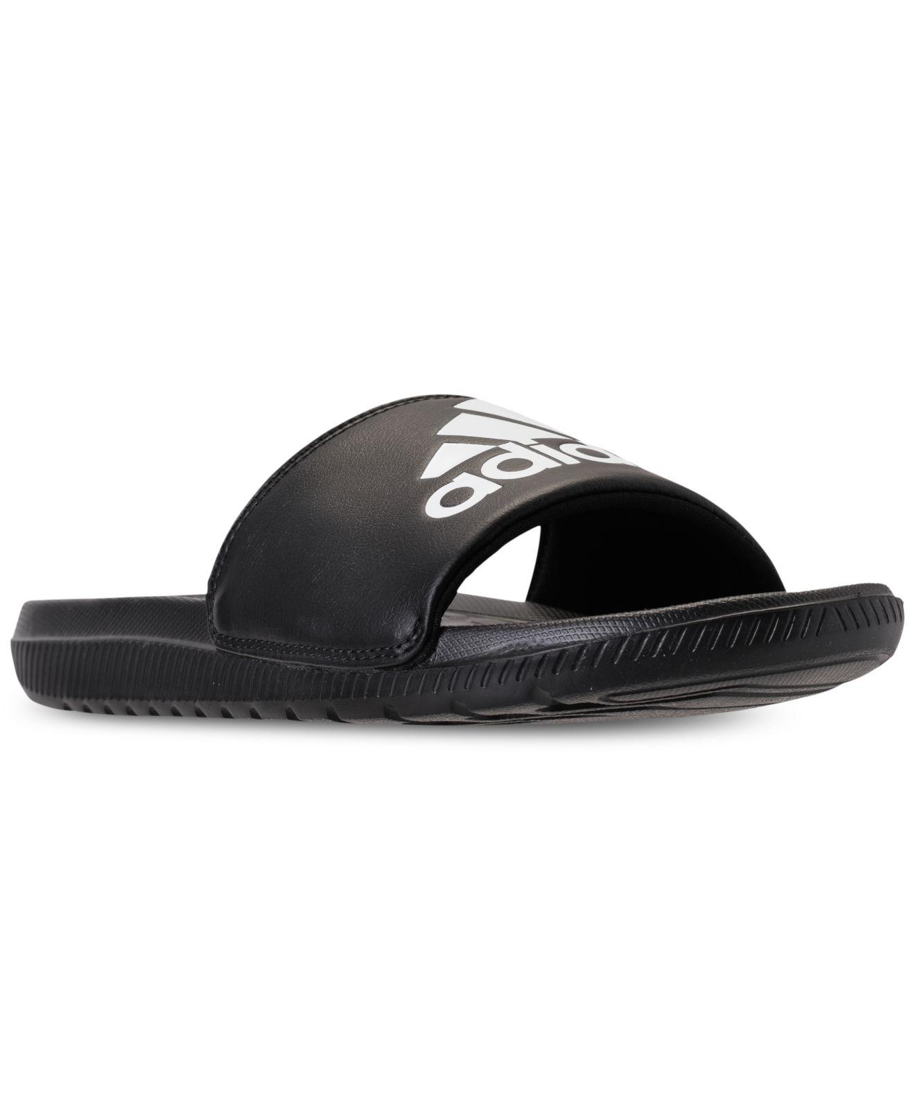 d8f026edd9d6 Lyst - adidas Voloomix Slide Sandals From Finish Line in Black for ...