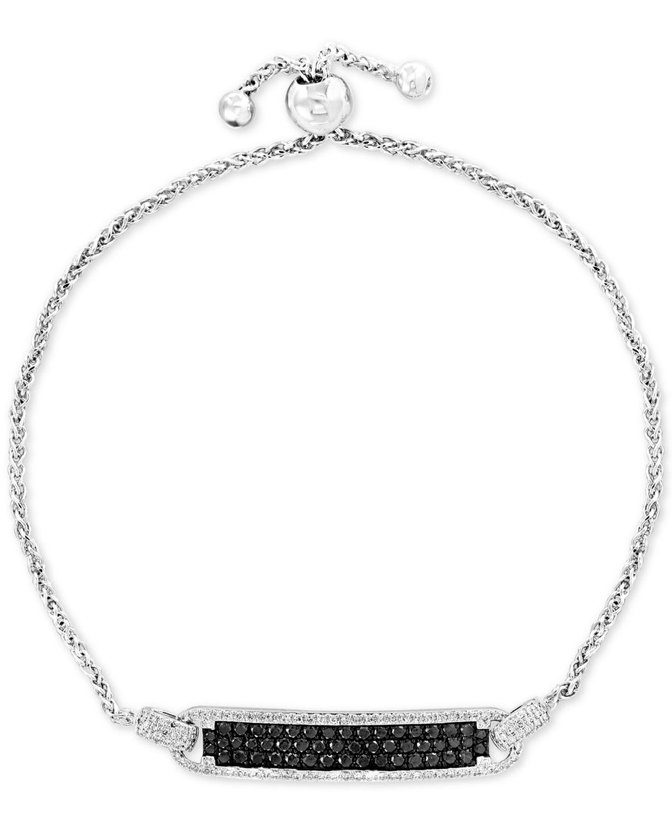 91bddfb5251177 Lyst - Effy Collection Effy® Diamond Bolo Bracelet (1 Ct. T.w.) In ...