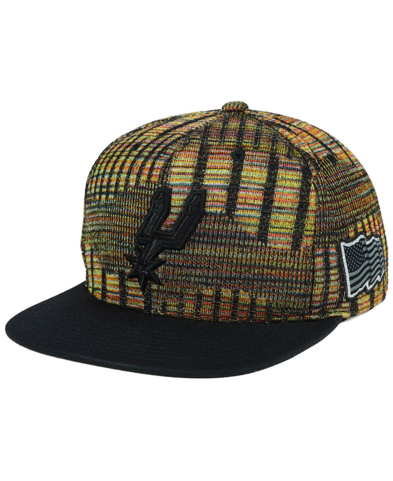 lower price with df0dd f07e9 ... discount mitchell ness. mens san antonio spurs black flag snapback cap  0d80a bd51a