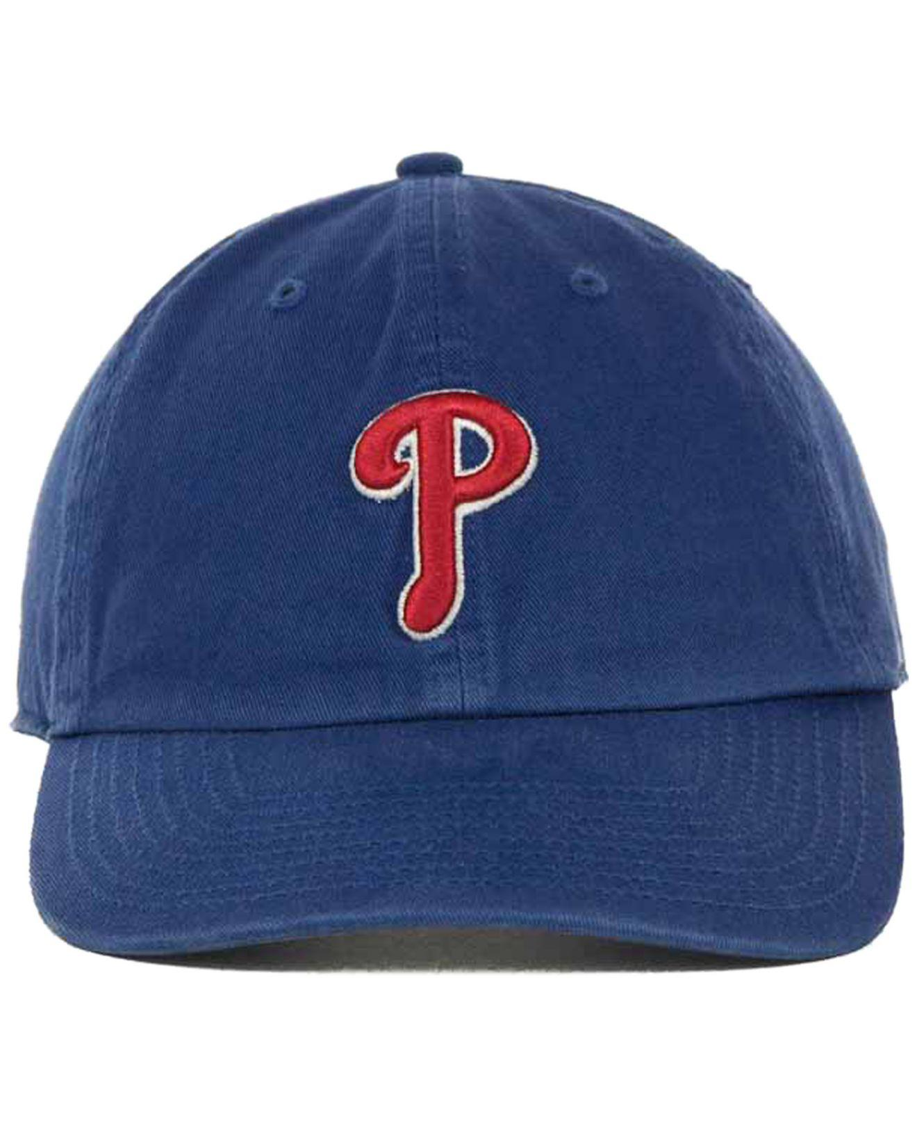 7c3ac8dbb0d Lyst - 47 Brand Philadelphia Phillies Clean Up Hat in Natural for Men