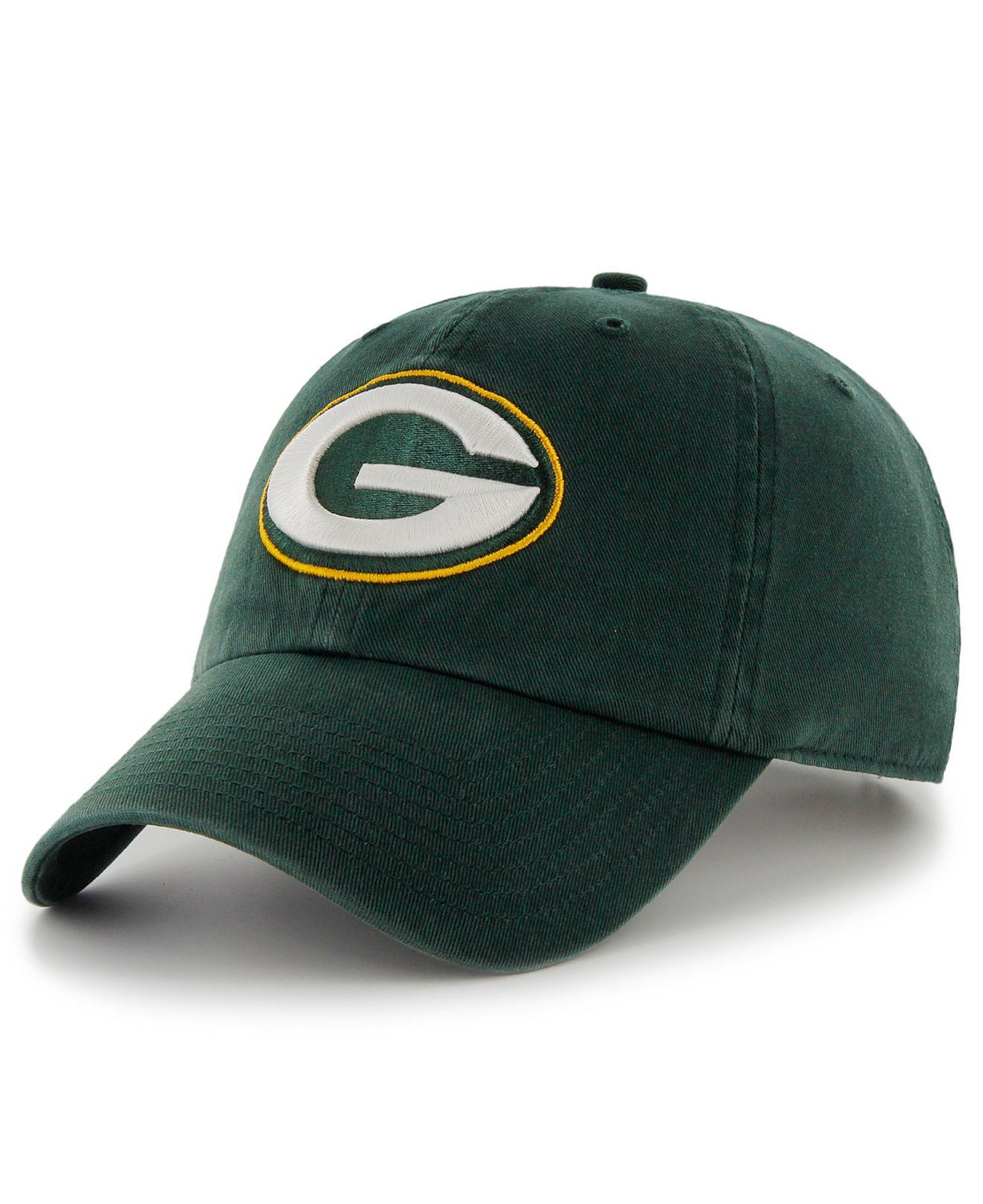 Lyst - 47 Brand Green Bay Packers Franchise Hat in Green for Men 7ee789d2e