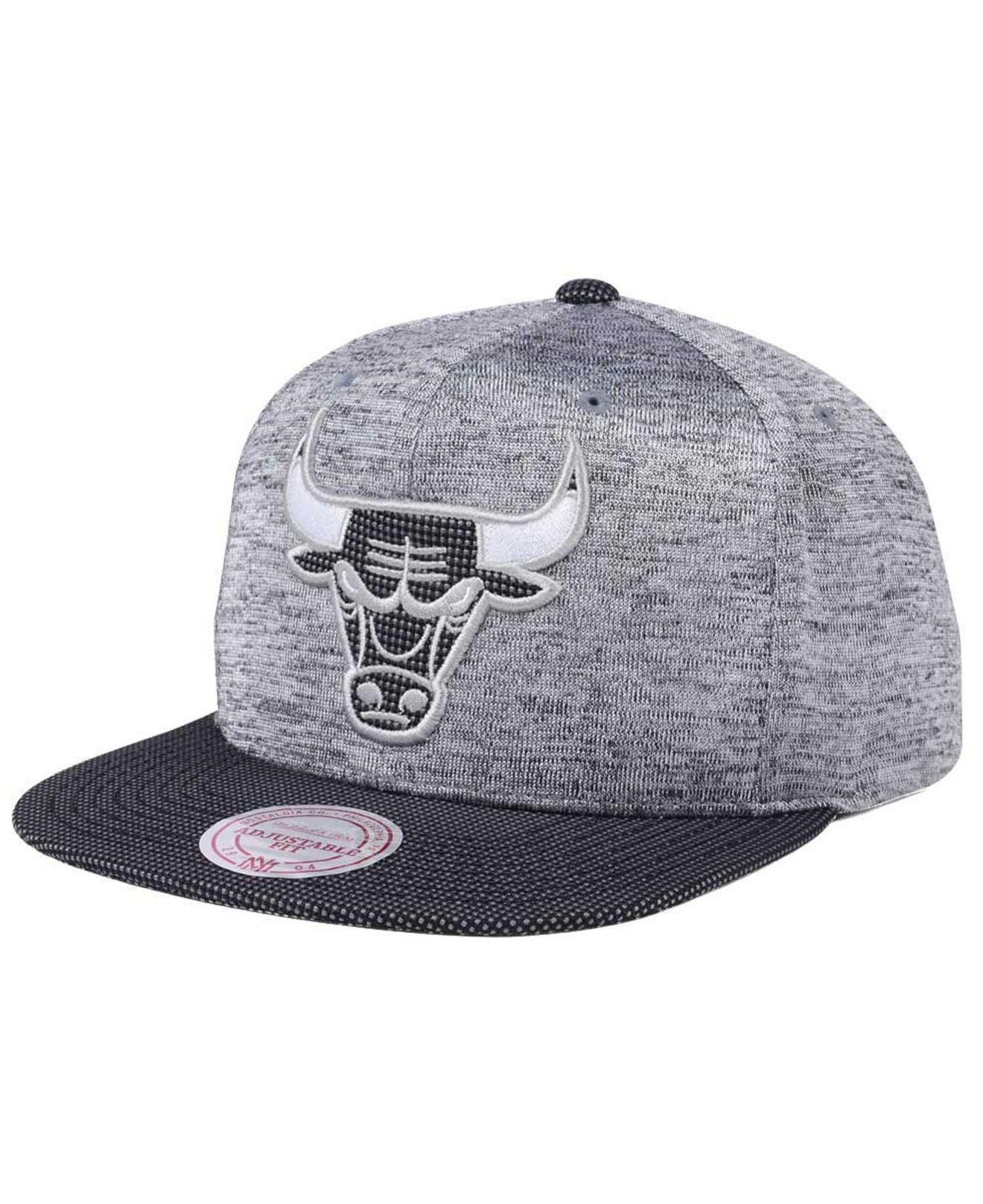 official photos 56a97 42712 Mitchell   Ness. Women s Gray Space Knit Snapback Cap