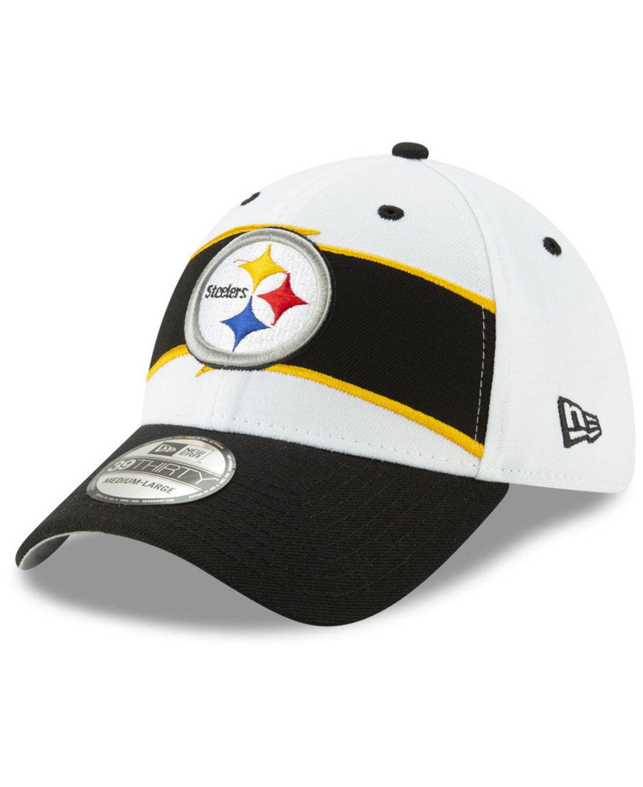 a3274a2e08d Lyst - KTZ Pittsburgh Steelers Thanksgiving 39thirty Cap in Black ...