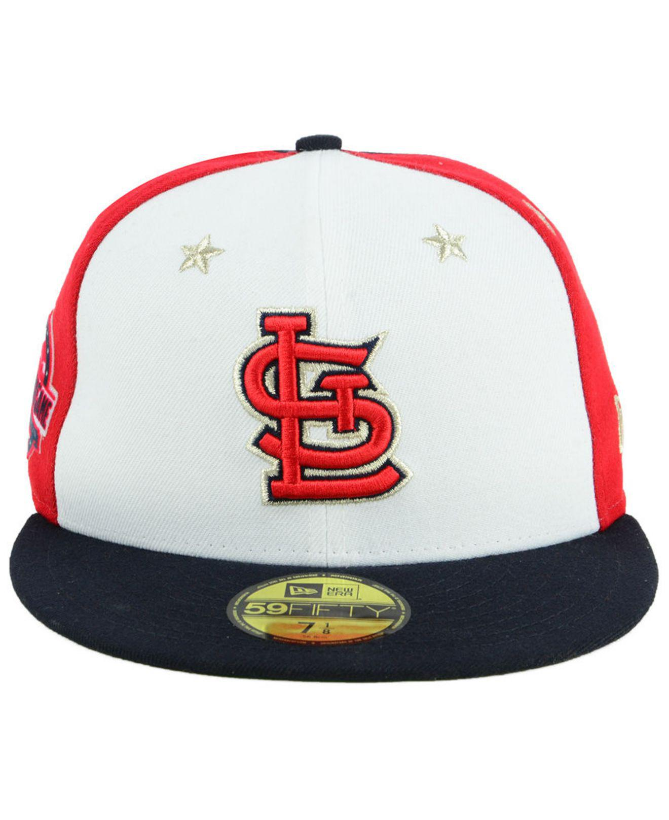 new style ce969 330e7 ... france lyst ktz st. louis cardinals all star game patch 59fifty fitted  cap 2018 for