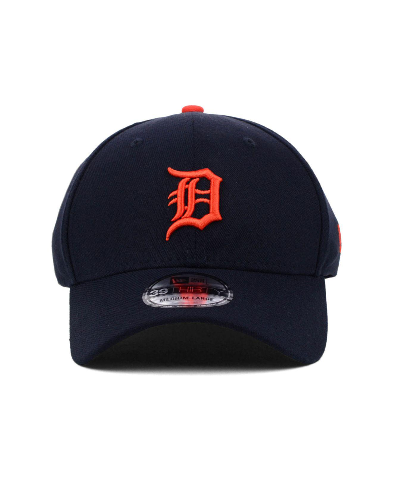 detailing 39399 7f878 ... Detroit Tigers Mlb Team Classic 39thirty Cap for Men - Lyst. View  fullscreen