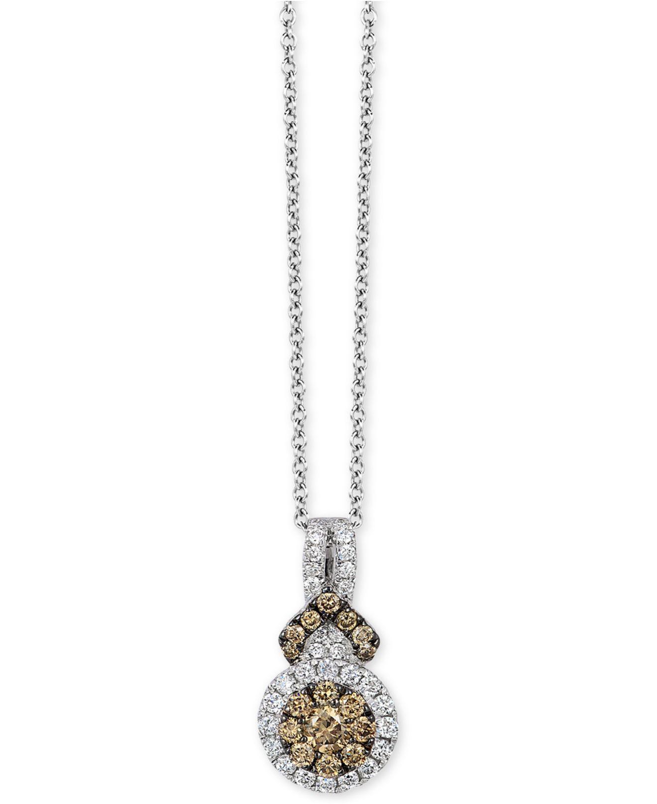 Le Vian Lariat Necklace 3/8 ct tw Diamonds 14K Strawberry Gold PPL1km3C5Z