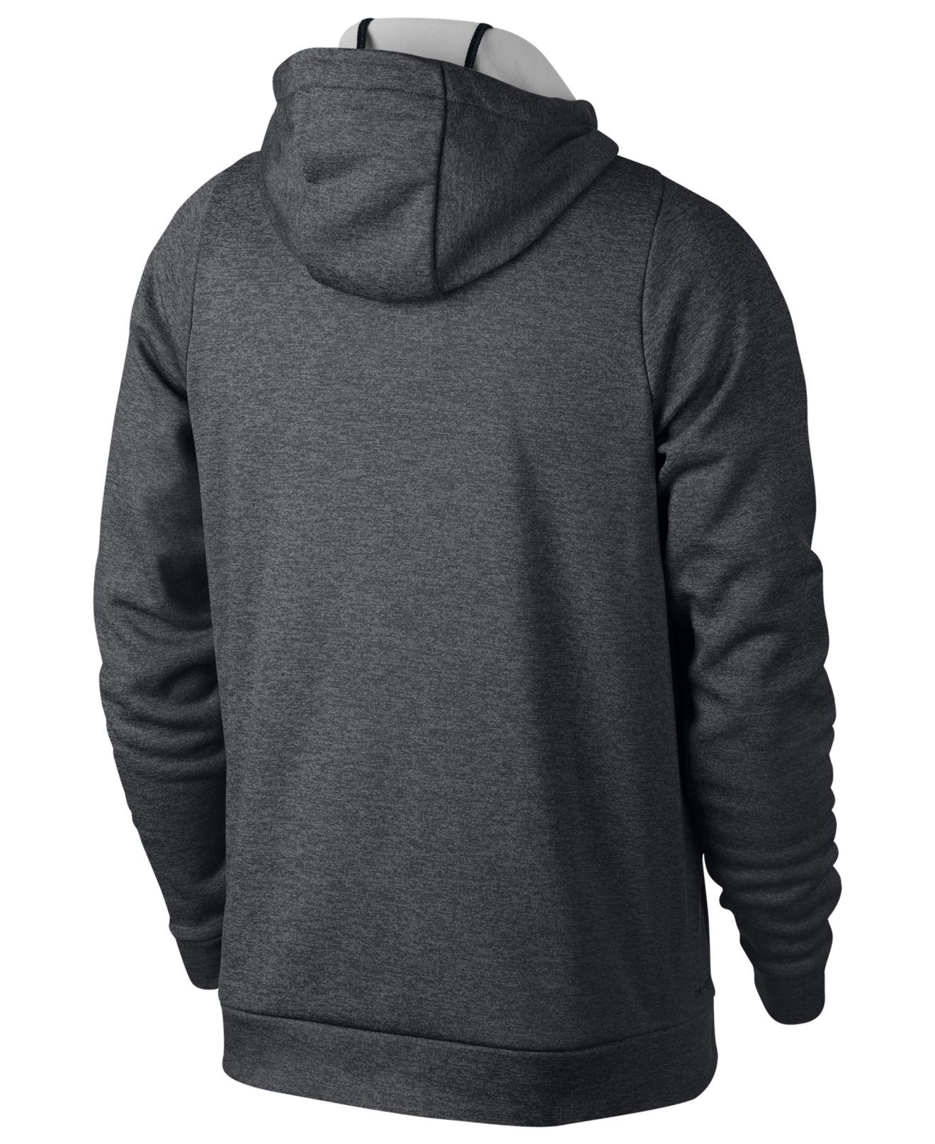 e2459cff Lyst - Nike Therma Training Hoodie in Gray for Men - Save 41%