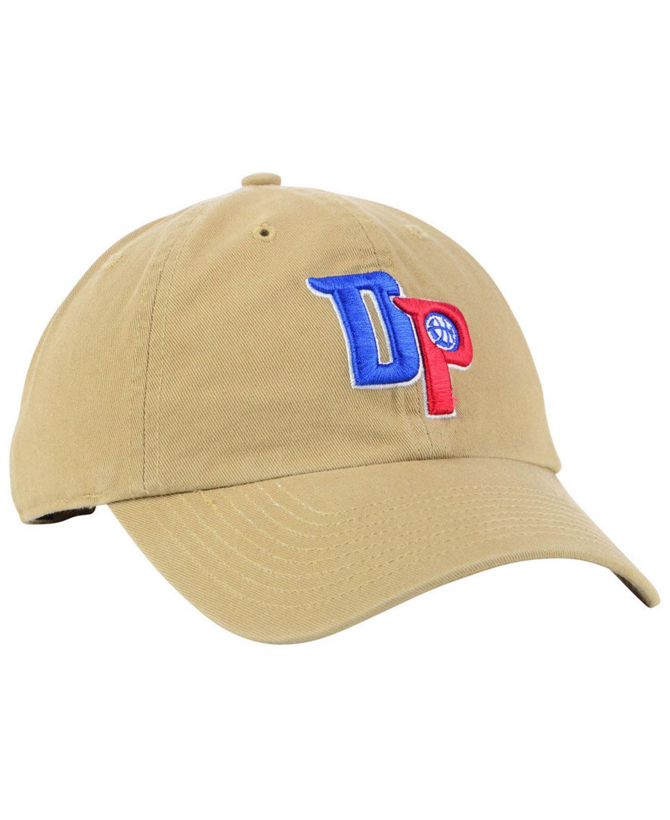 cheaper e2449 8d7fc ... ebay 47 brand multicolor detroit pistons mash up clean up cap for men  lyst. view