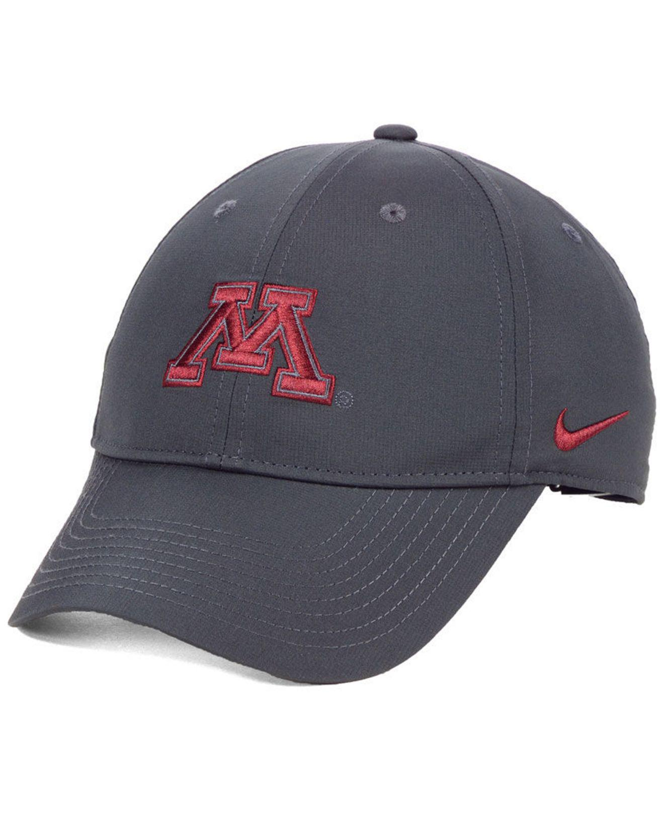 ad8d4aa163b Lyst - Nike Minnesota Golden Gophers Dri-fit Adjustable Cap in Gray ...
