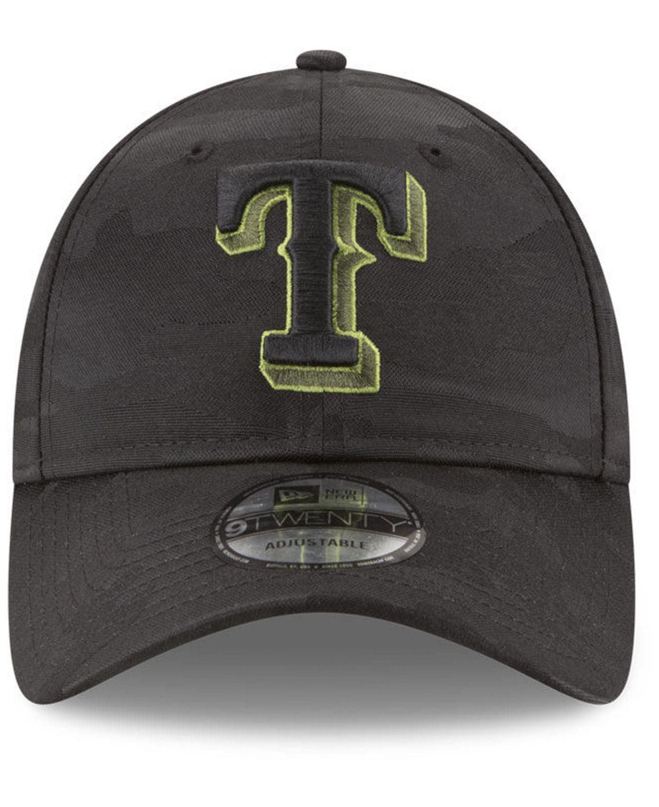 4746edded83d5 ... where to buy lyst ktz texas rangers memorial day 9twenty cap in black  for men save