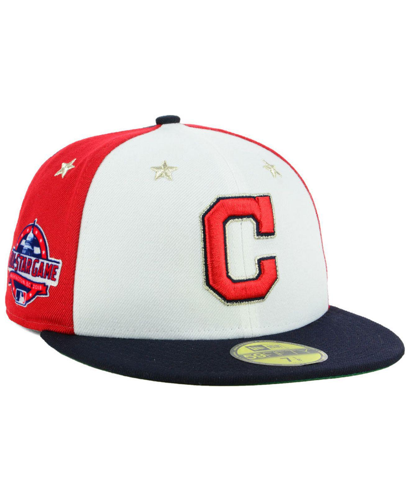 meet b0c5a 15586 KTZ. Men s Cleveland Indians All Star Game Patch 59fifty Fitted Cap