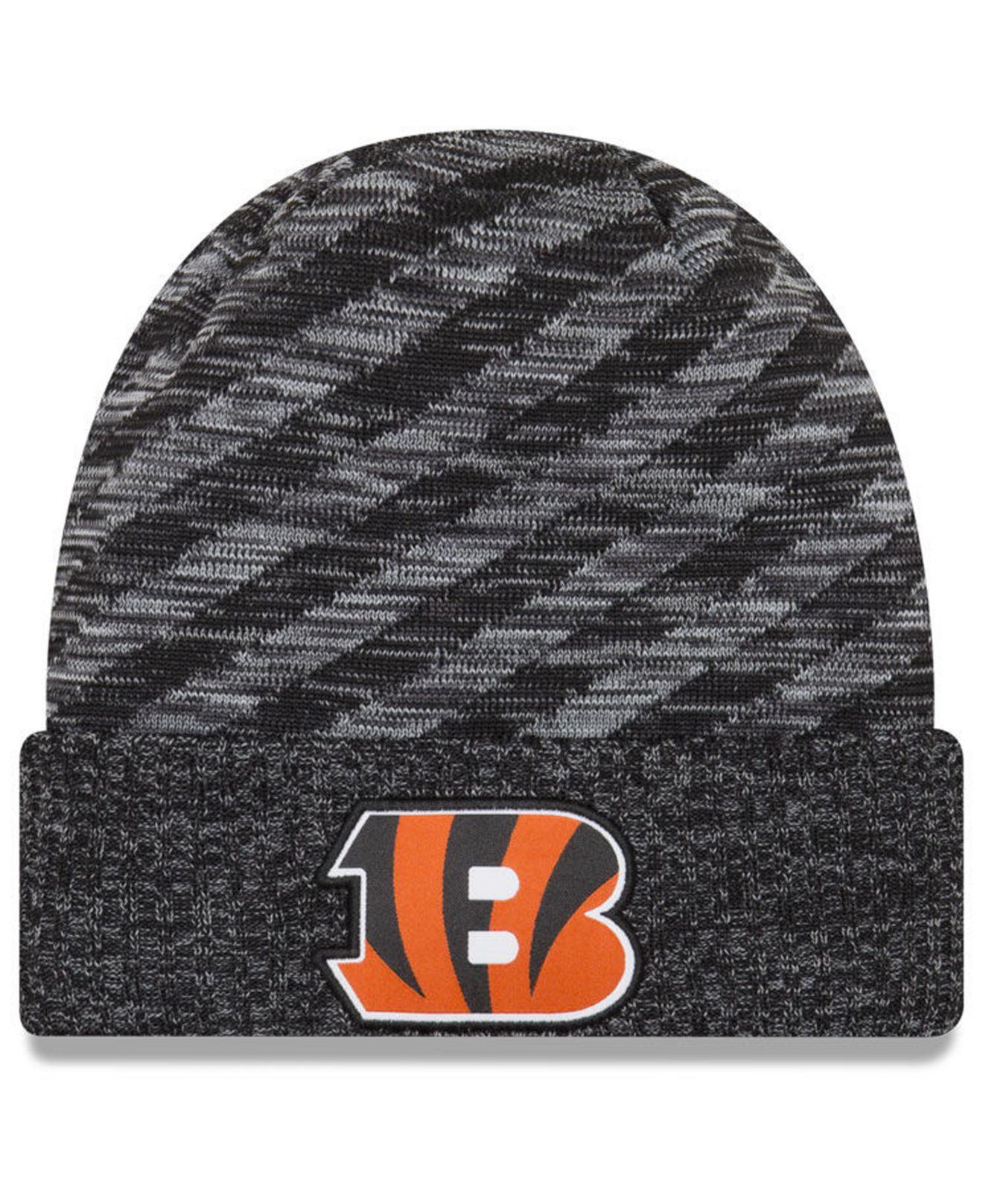 Lyst - KTZ Cincinnati Bengals Touch Down Knit Hat in Black for Men 5ee2ea40f