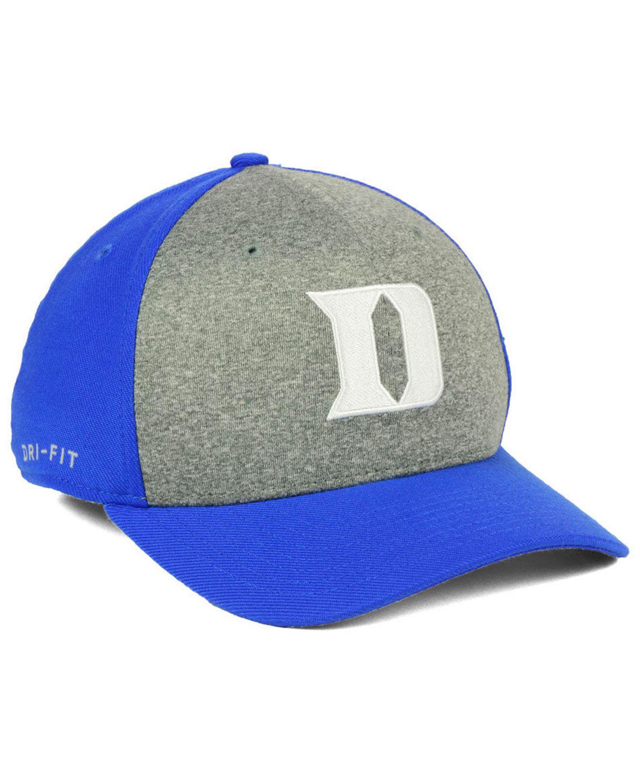 4e6f48aa2bfcf order lyst nike duke blue devils legend swooshflex cap in blue for men  ed508 b78bc