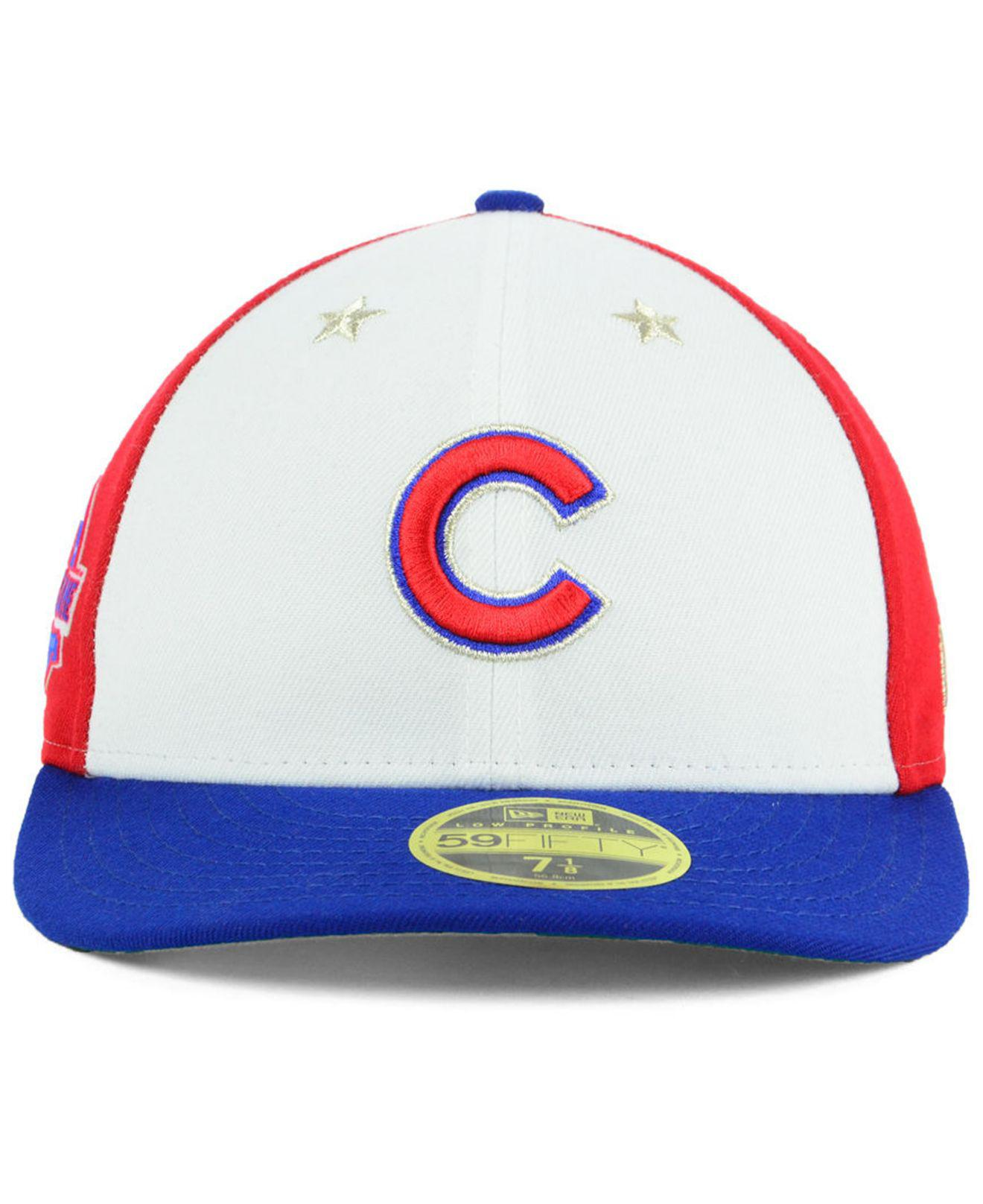 25a9e86cdb9 Lyst - KTZ Chicago Cubs All Star Game Patch Low Profile 59fifty Fitted Cap  2018 for Men